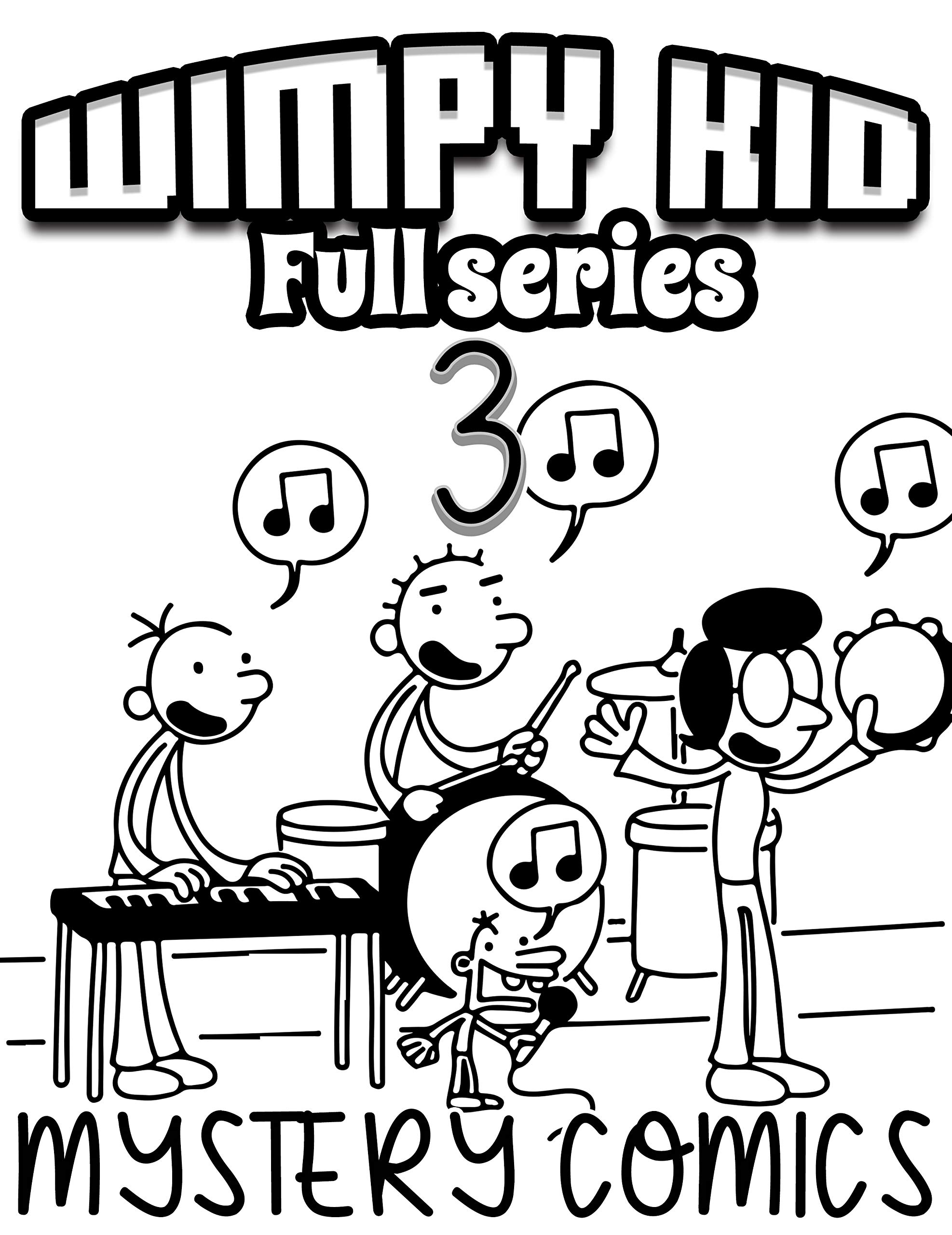 Mystery comics Wimpy kid Full series: Funny Wimpy kid Limited Edition Vol 3