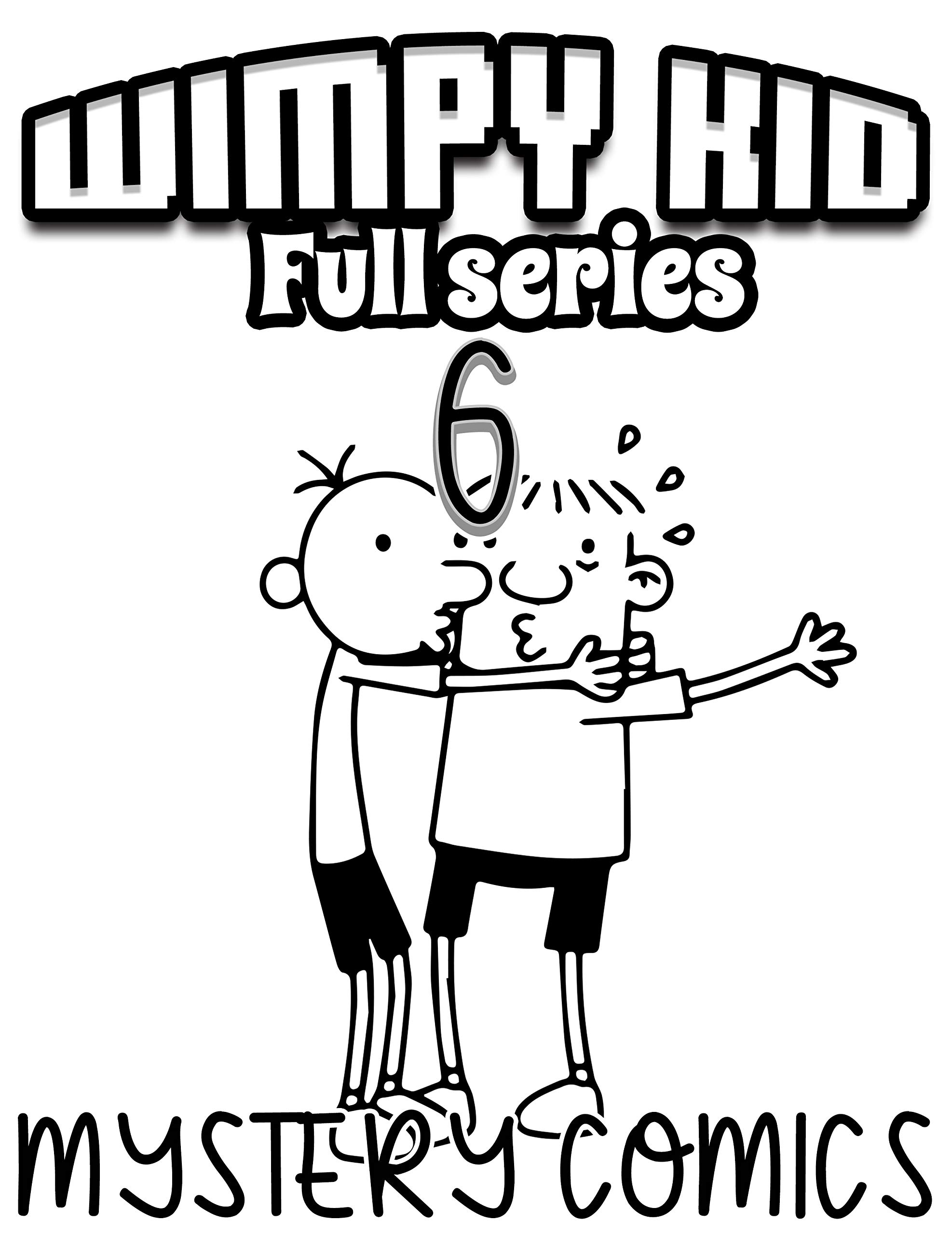 Mystery comics Wimpy kid Full series: Funny Wimpy kid Limited Edition Vol 6