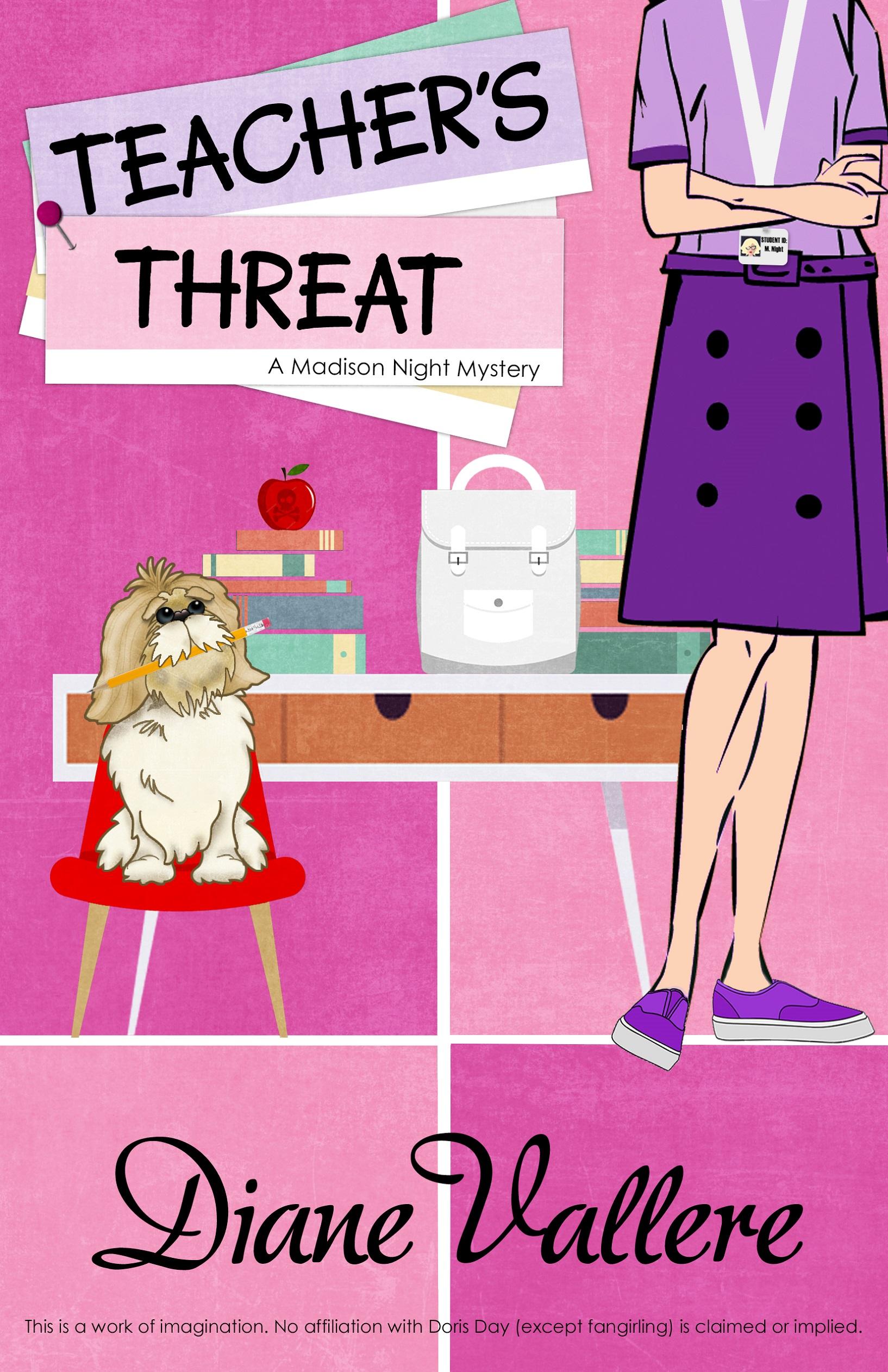 Teacher's Threat (Mad for Mod Mystery #8)