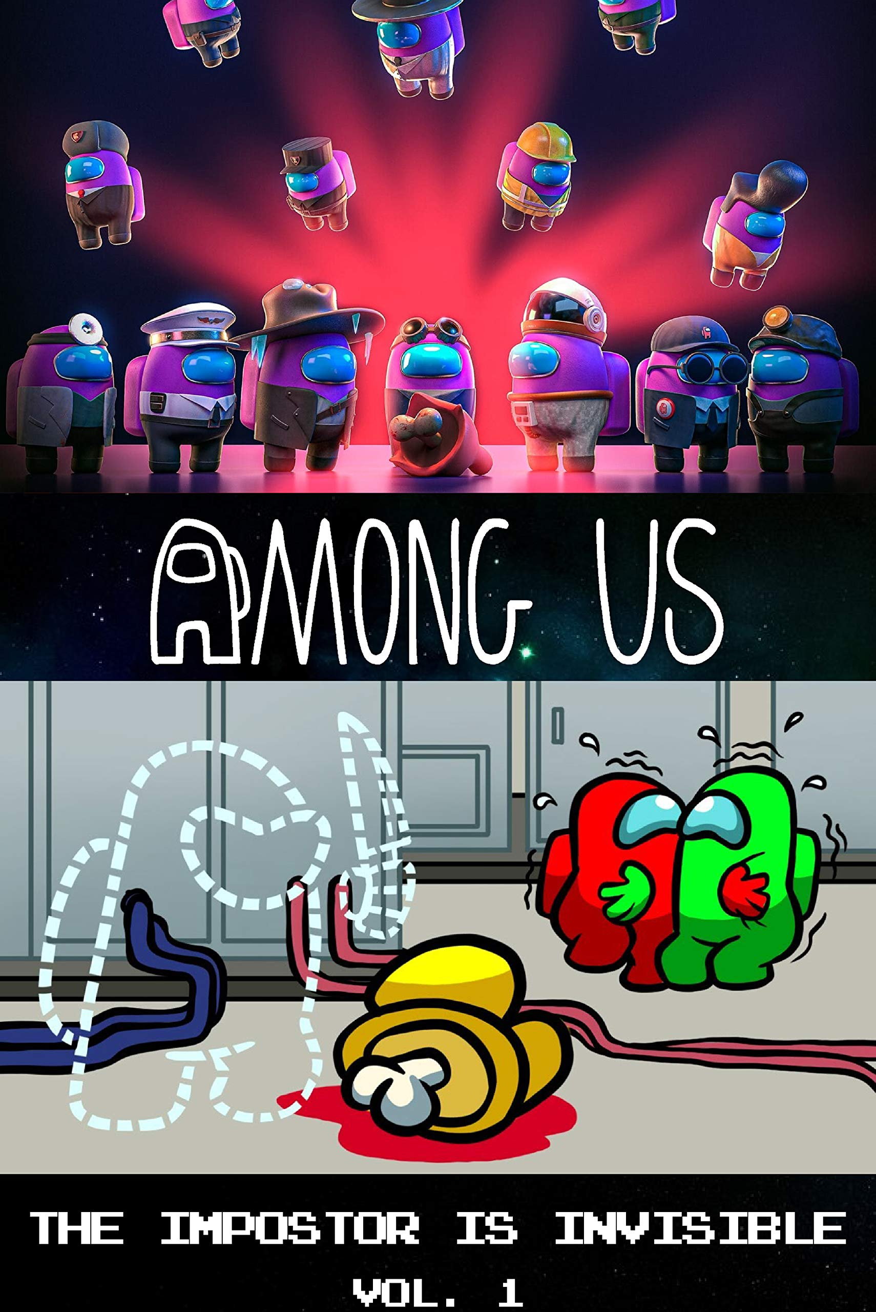 Among Us Story Comic : The Impostor Is Invisible Chapter 1