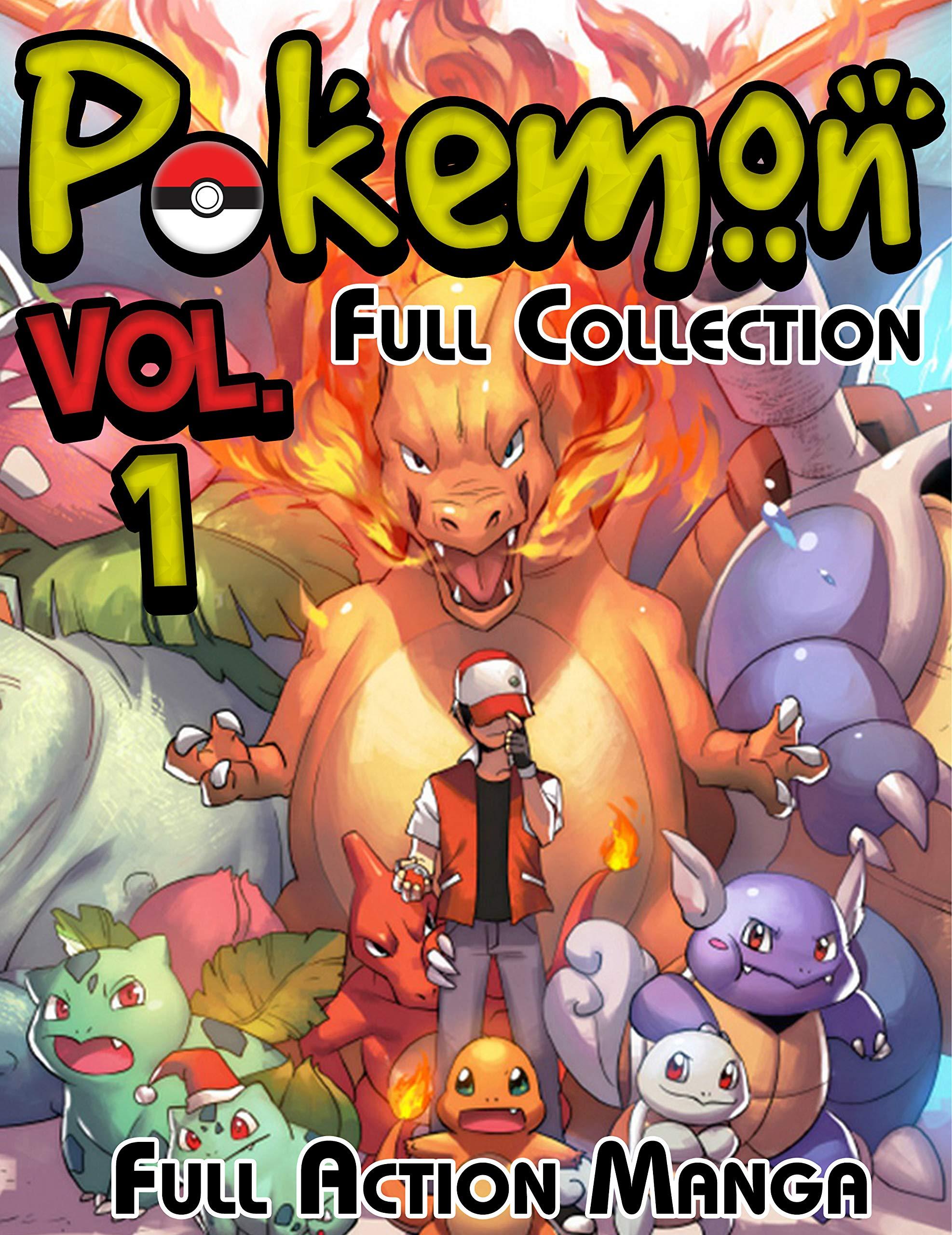 Full Action Manga Pokemon Full Collection: Limited Edition Pokemon Vol 1