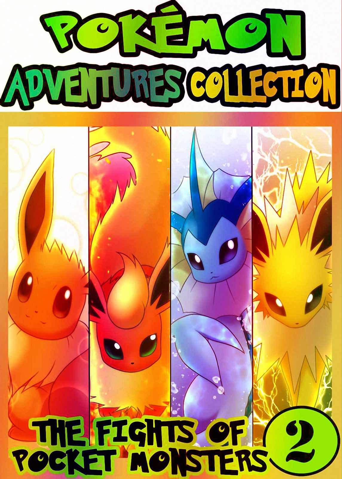 Pocket Adventure: Collection Pack 2 - Pocket Monsters Manga Adventures Pokemon Graphic Novel For Kids, Children