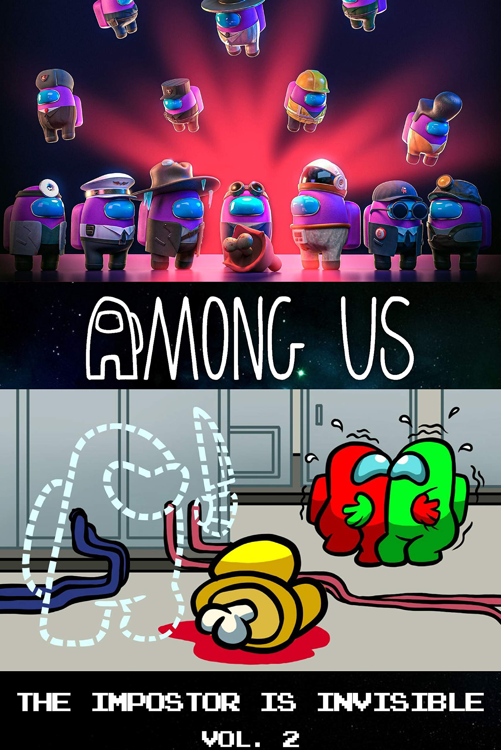 Among Us Story Comic : The Impostor Is Invisible Chapter 2