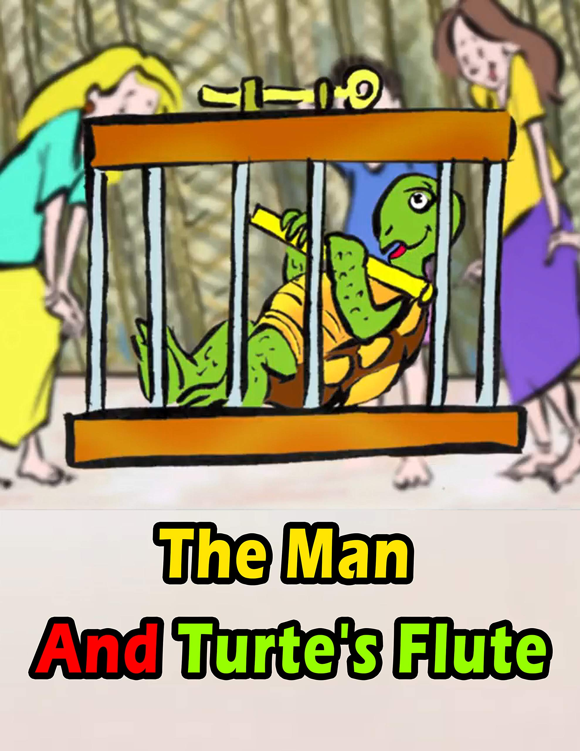 The Man And Turte's Flute: Bedtime stories For Kids In English   Classic Stories For Kids