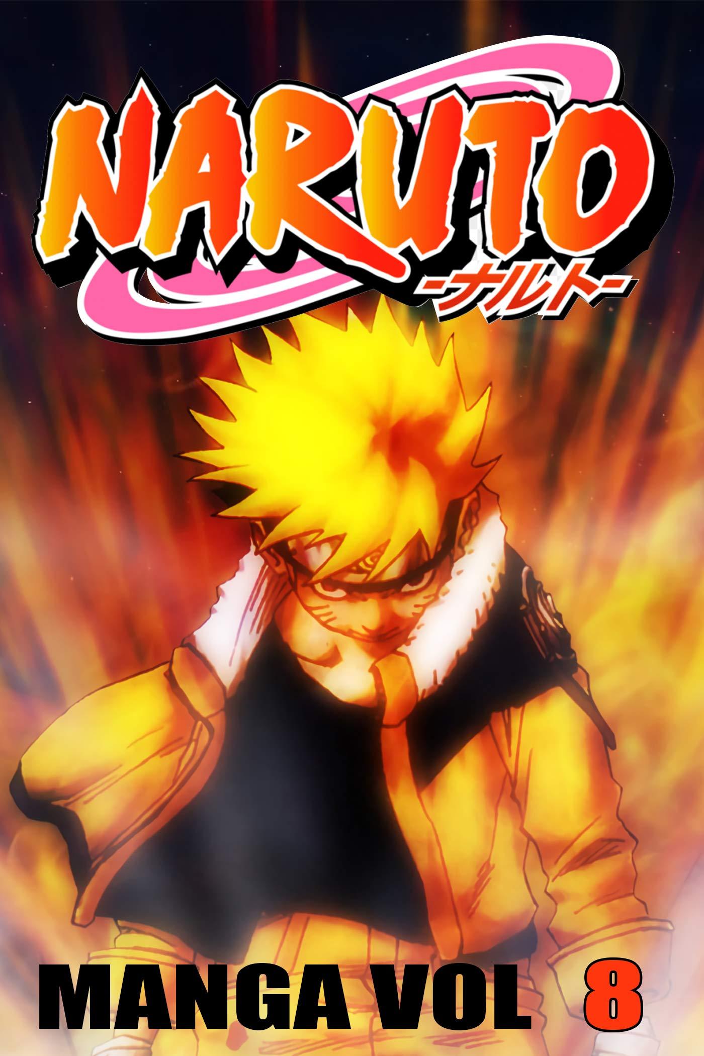 Best Manga Ninja 2021: Naruto Manga Vol 8