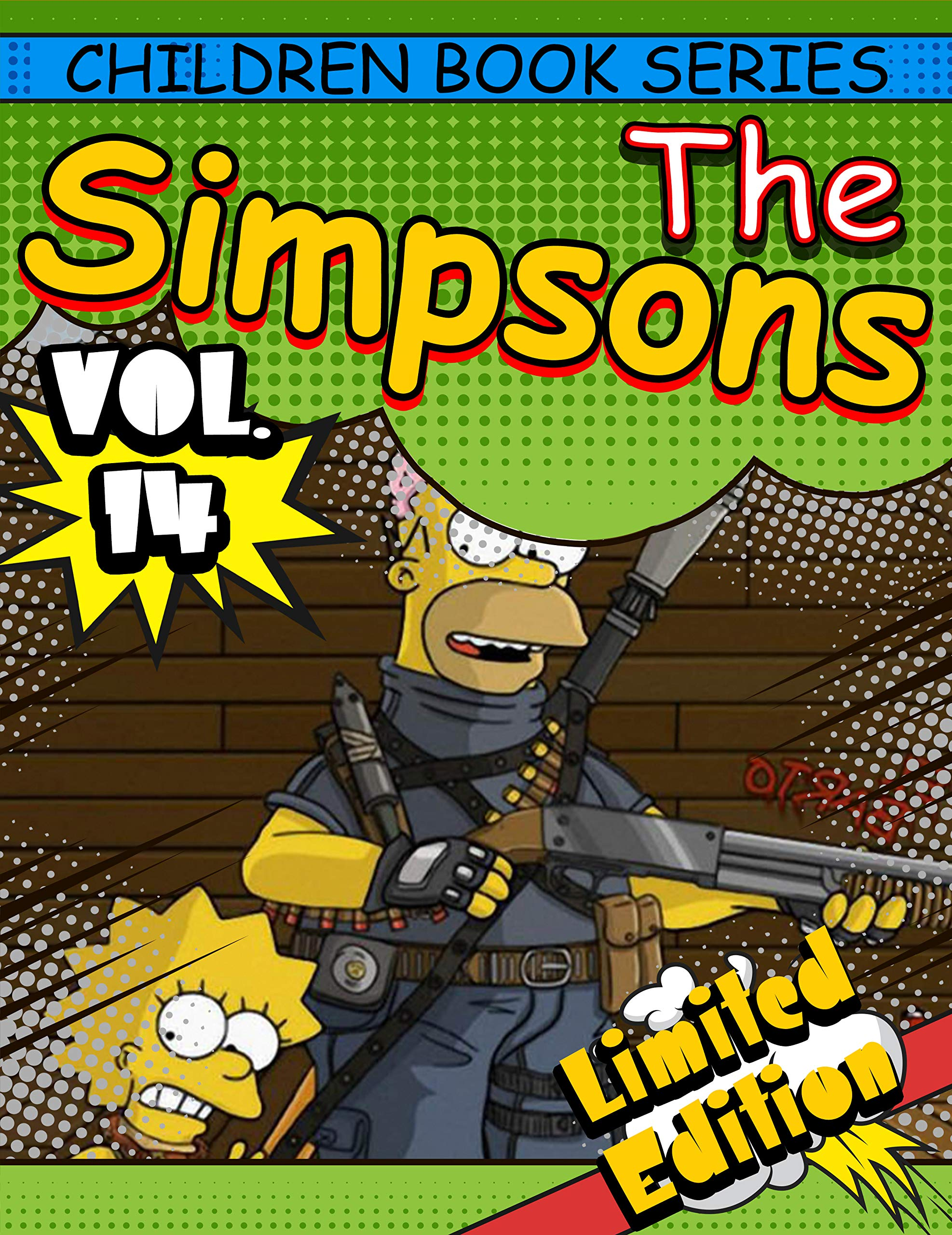 Children book series The Simpsons Limited Edition: Funny The Simpsons Completed Series Vol 14