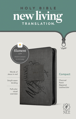 NLT Compact Zipper Bible, Filament Enabled Edition
