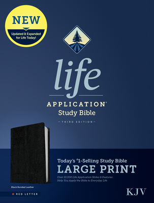 KJV Life Application Study Bible, Third Edition, Large Print
