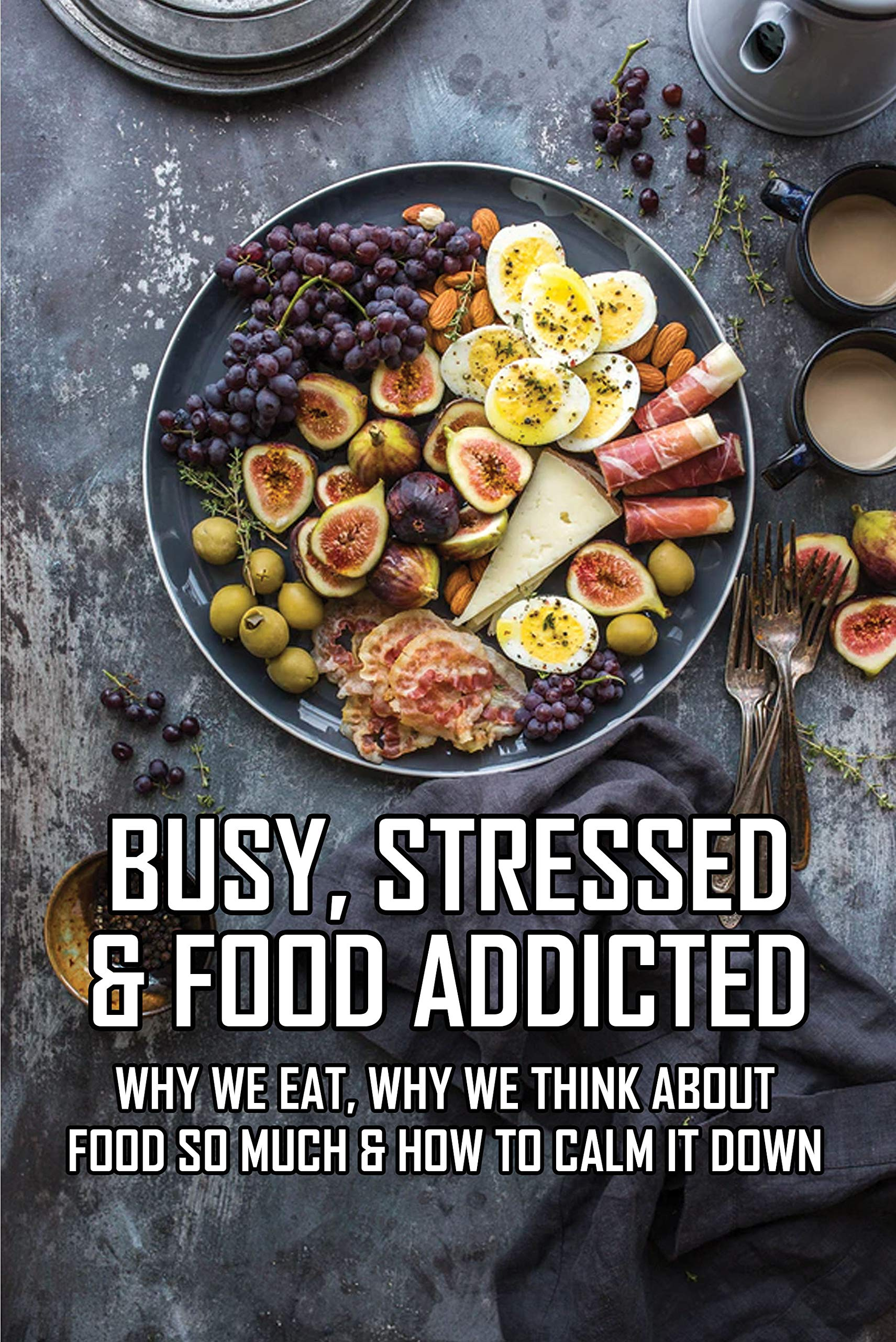 Busy, Stressed & Food Addicted: Why We Eat, Why We Think About Food So Much & How To Calm It Down: Food Addiction Books