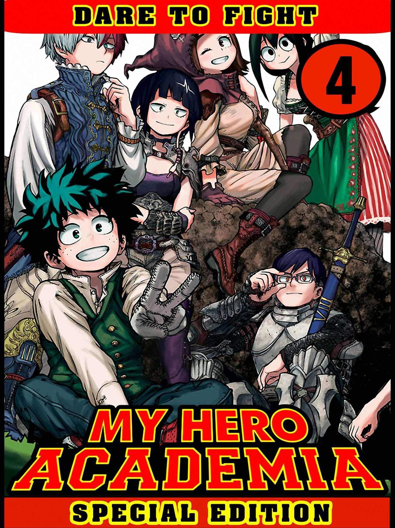 My Hero Academia Special: Collection Book 4 - My Hero Academia Fantasy Adventure Manga Action Shonen