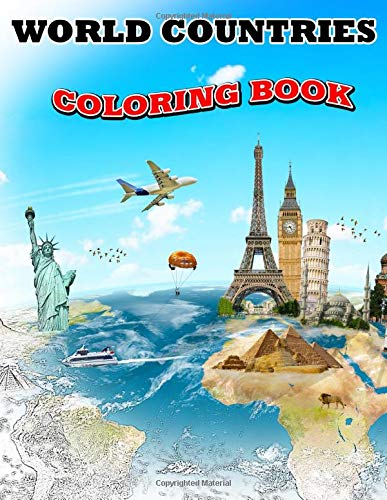 World Countries Coloring Book: Dover History Coloring Book, Map Coloring Book, World Geography Coloring Book