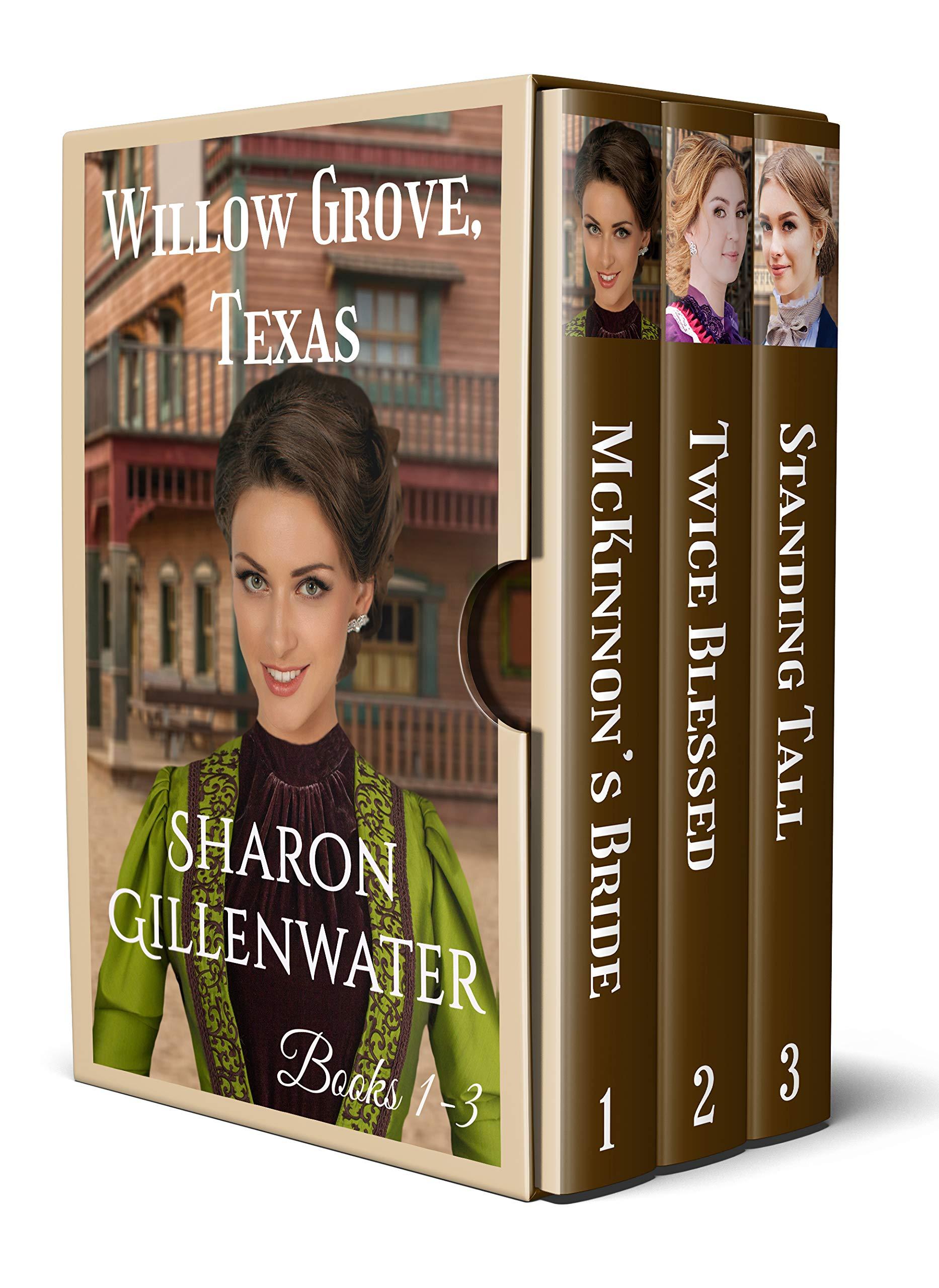 Willow Grove, Texas Box Set: Books 1-3: Christian Historical Western Romance