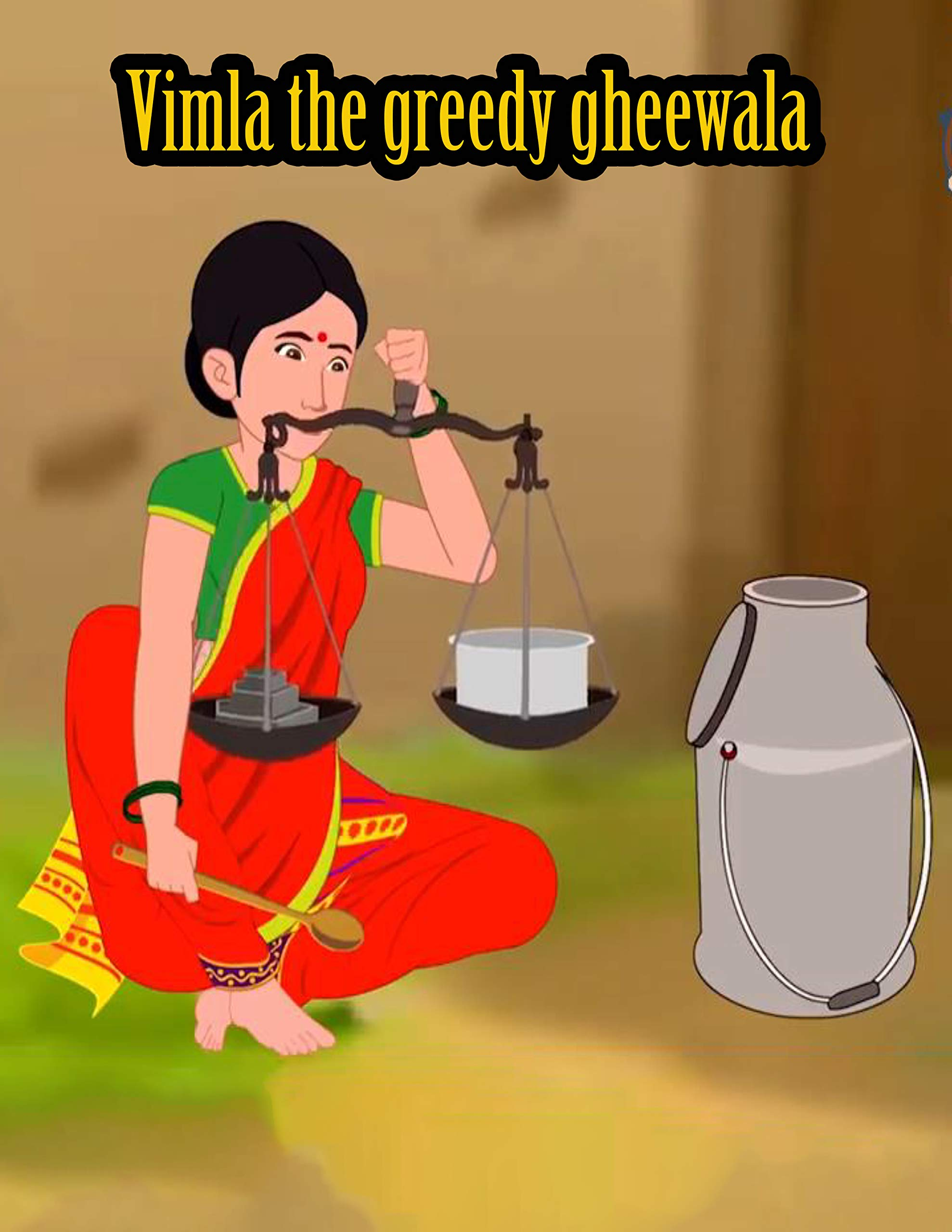 Vimla the greedy gheewala | Bedtime Stories For Kids: Make your child enjoy every moment, fun and happiness