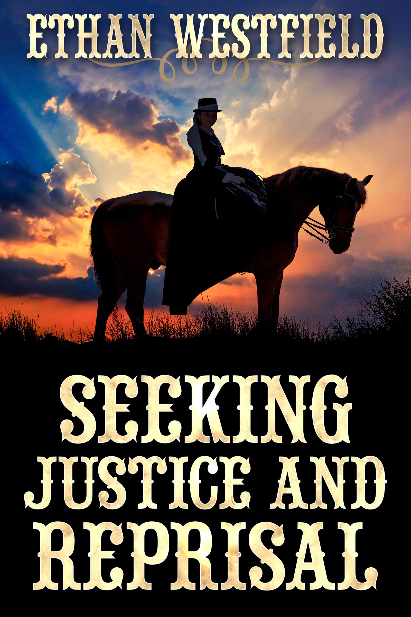 Seeking Justice and Reprisal: A Historical Western Adventure Book