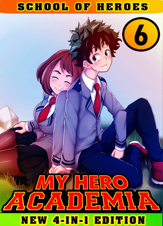 My Hero Academia School: Collection Book 6 - My Hero Academia Shonen Fantasy Manga Action Adventure For Children