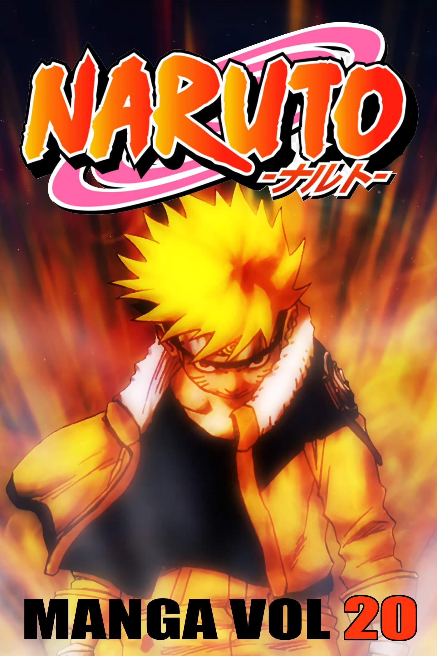 Best Manga Ninja 2021: Naruto Manga Vol 20