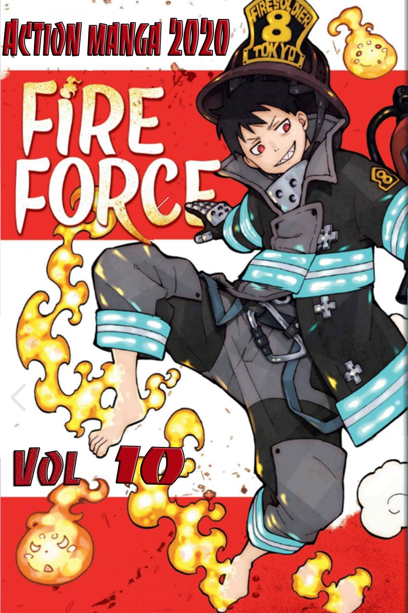 New Fire Force Manga Collection: Fire Force Volume 10