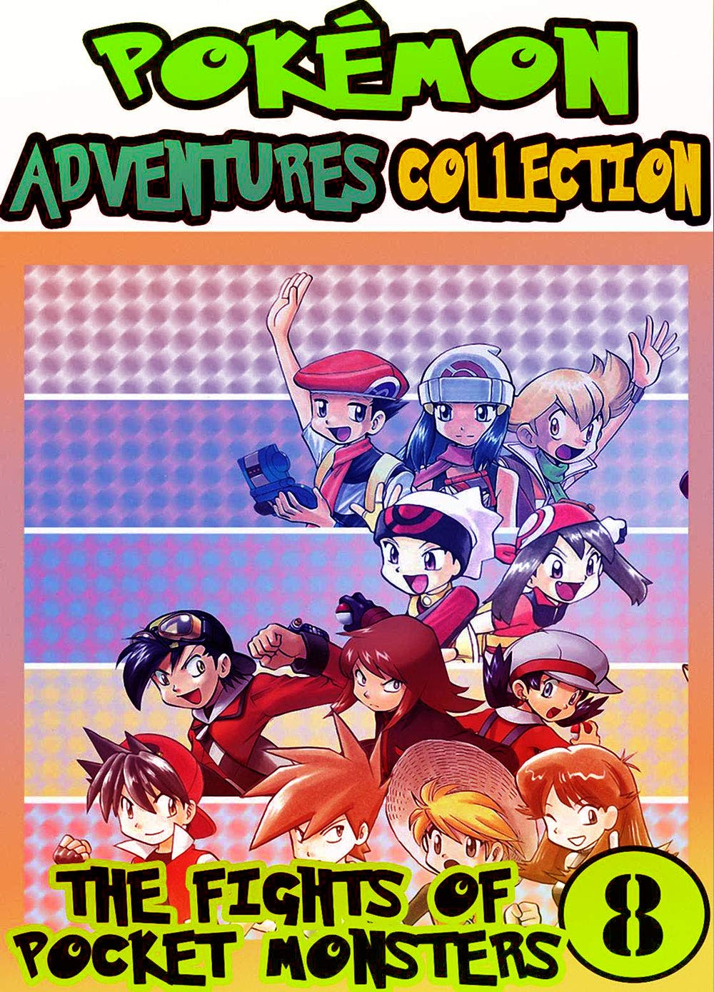 Fight Adventures Pocket: Collection Pack 8 - Adventures Of Pocket Monsters Manga Pokemon Graphic Novel For Children