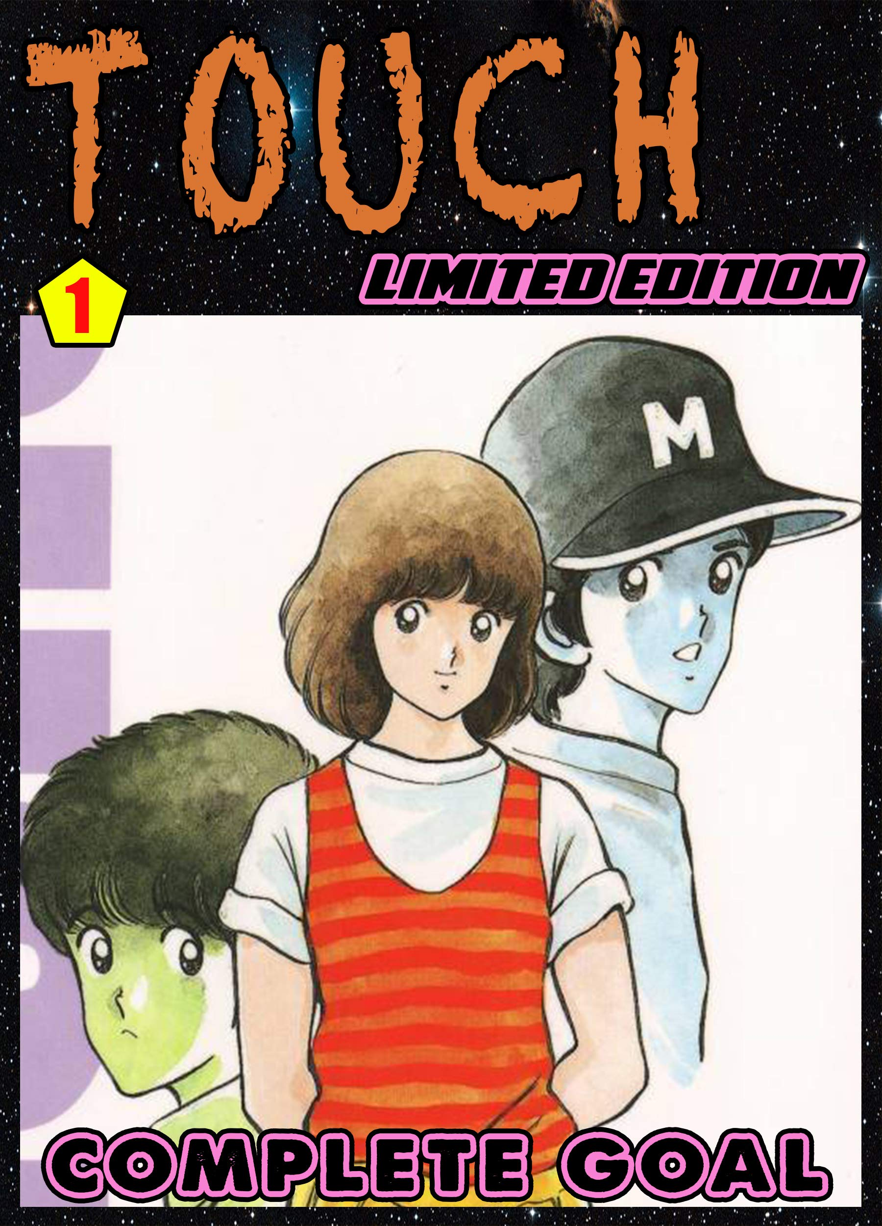Touch Limited Edition: Chapter 1 - Touch Action Manga comedy phantasy graphic