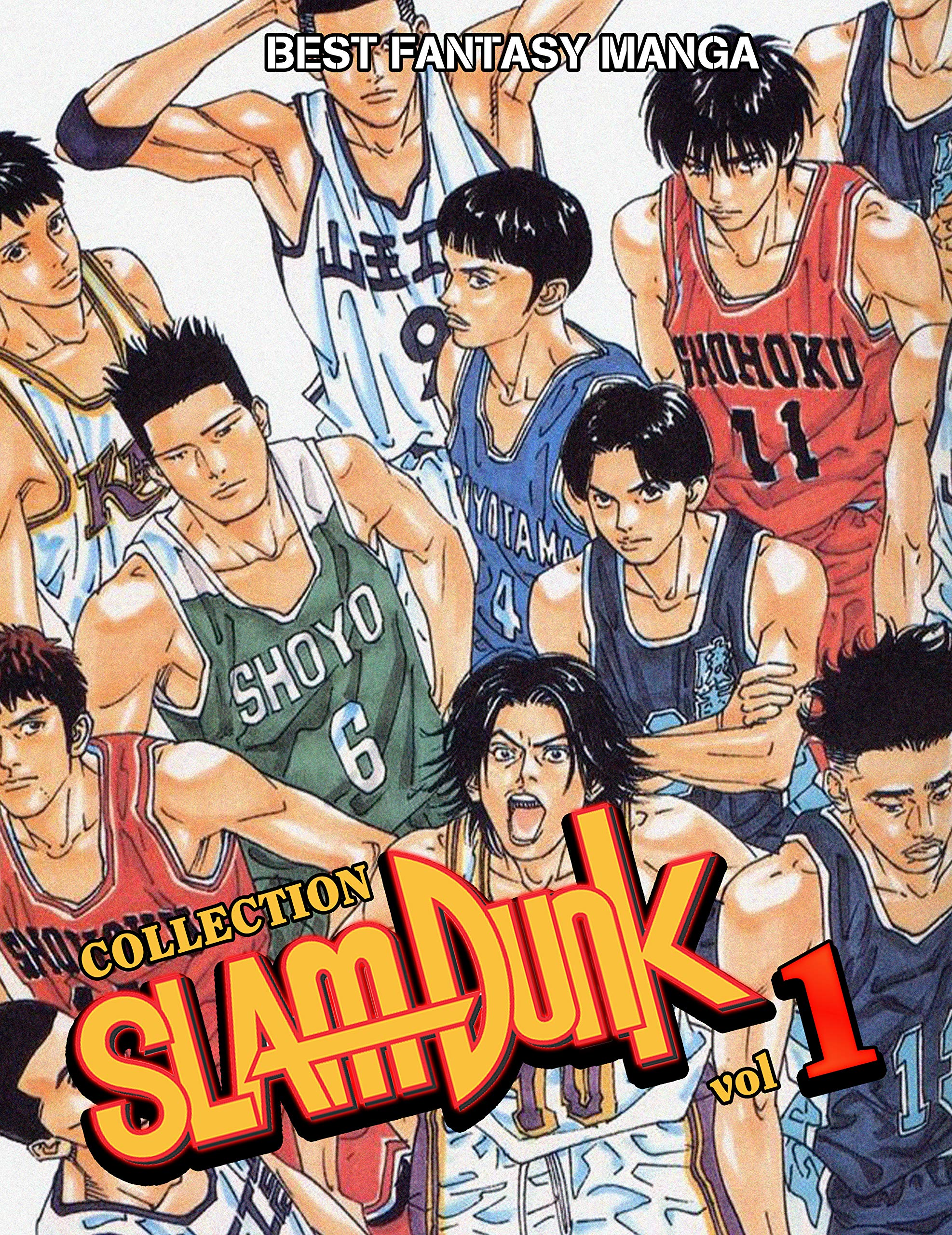 Best Fantasy Manga Slam Dunk Collection: Full Collection Slam Dunk Vol 1