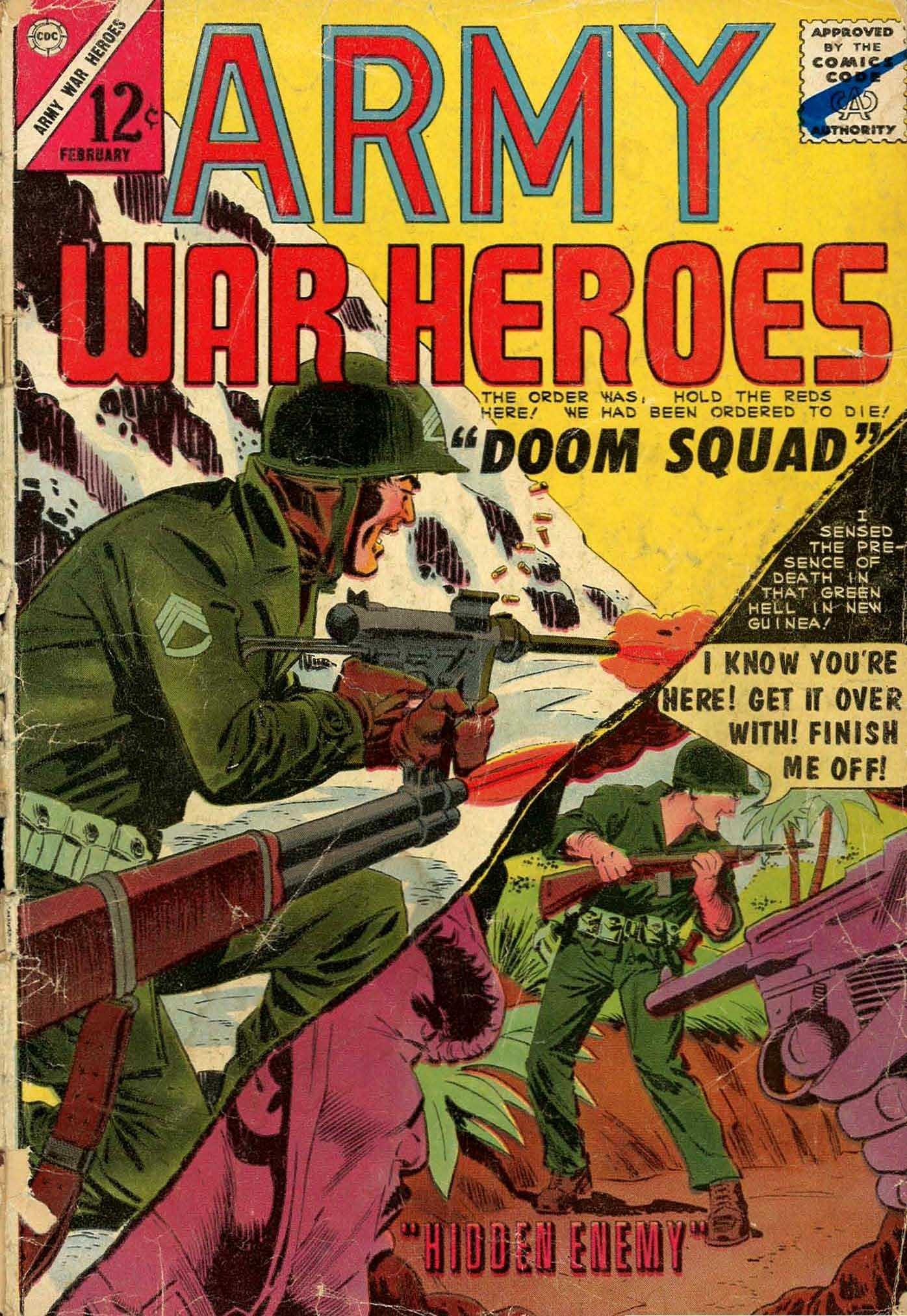 Army War Heroes #7