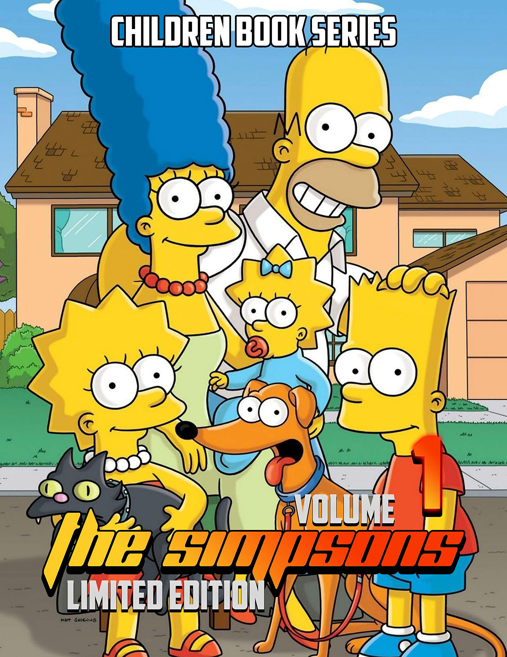 Children book series The Simpsons Limited Edition: The Simpsons Limited Edition Volume 1