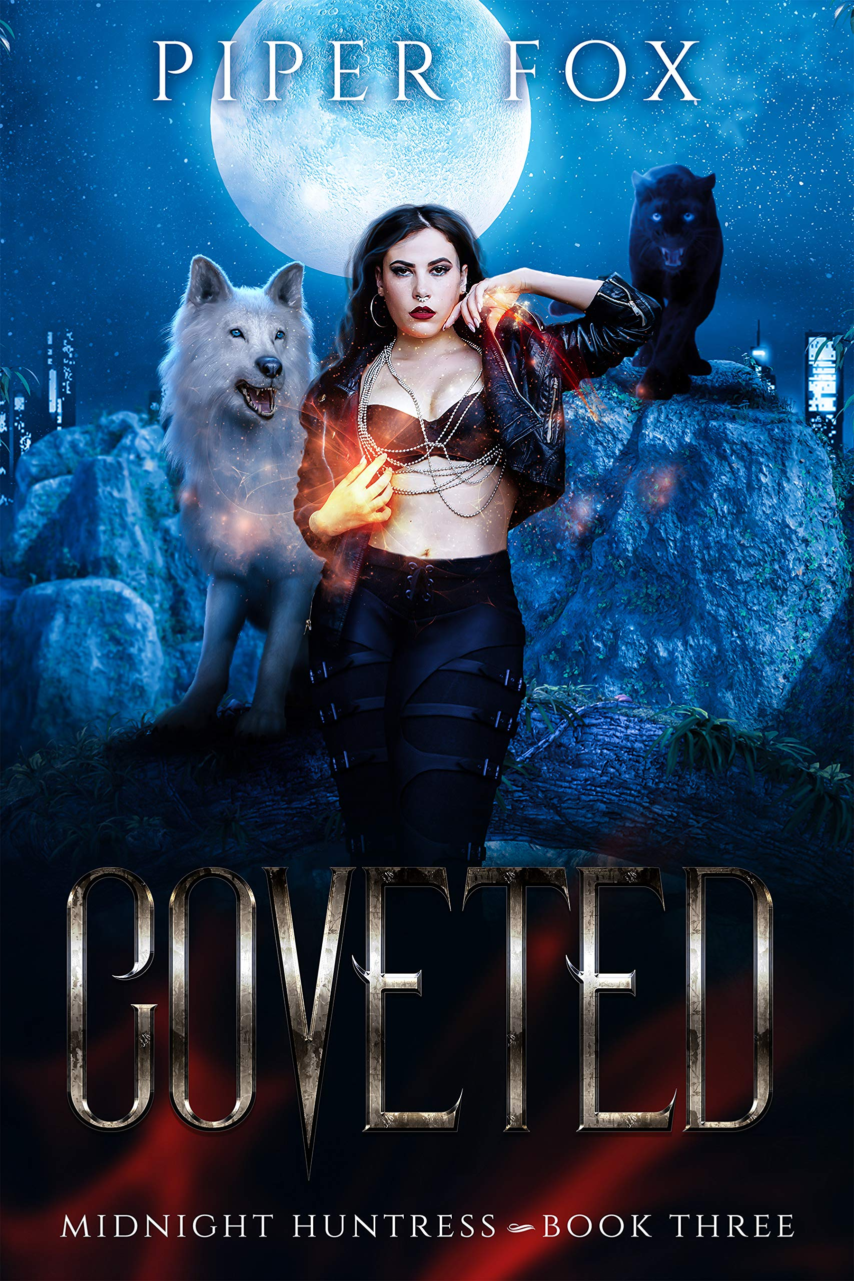 Coveted: A Paranormal Romance (Midnight Huntress Book 3)