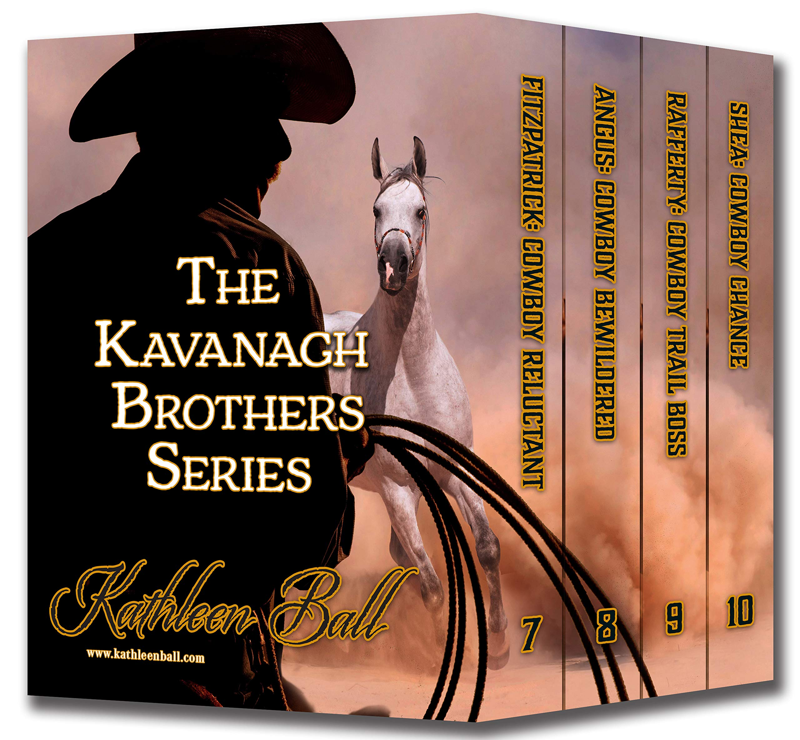 The Kavanagh Brothers Series Books 7-10: Christian Historical Western Romance