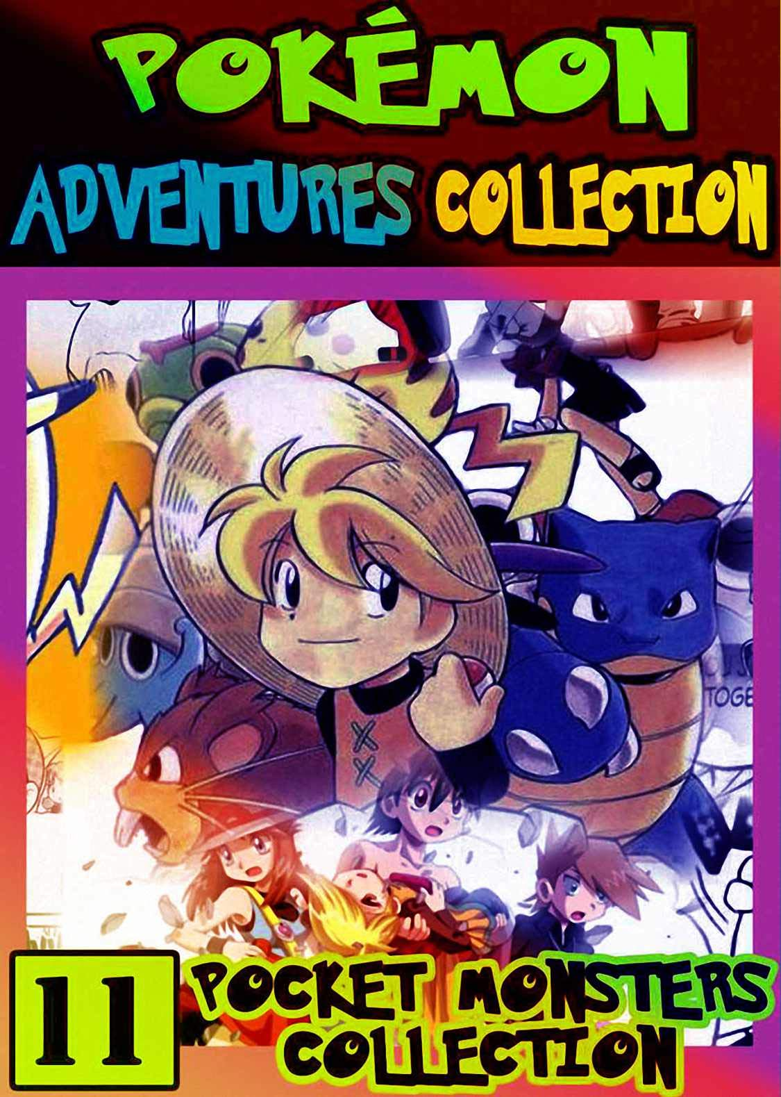 Monsters Collection: Collection Pack 11 - Graphic Novel For Children, Kids Pokemon Manga Pocket Monsters Adventures