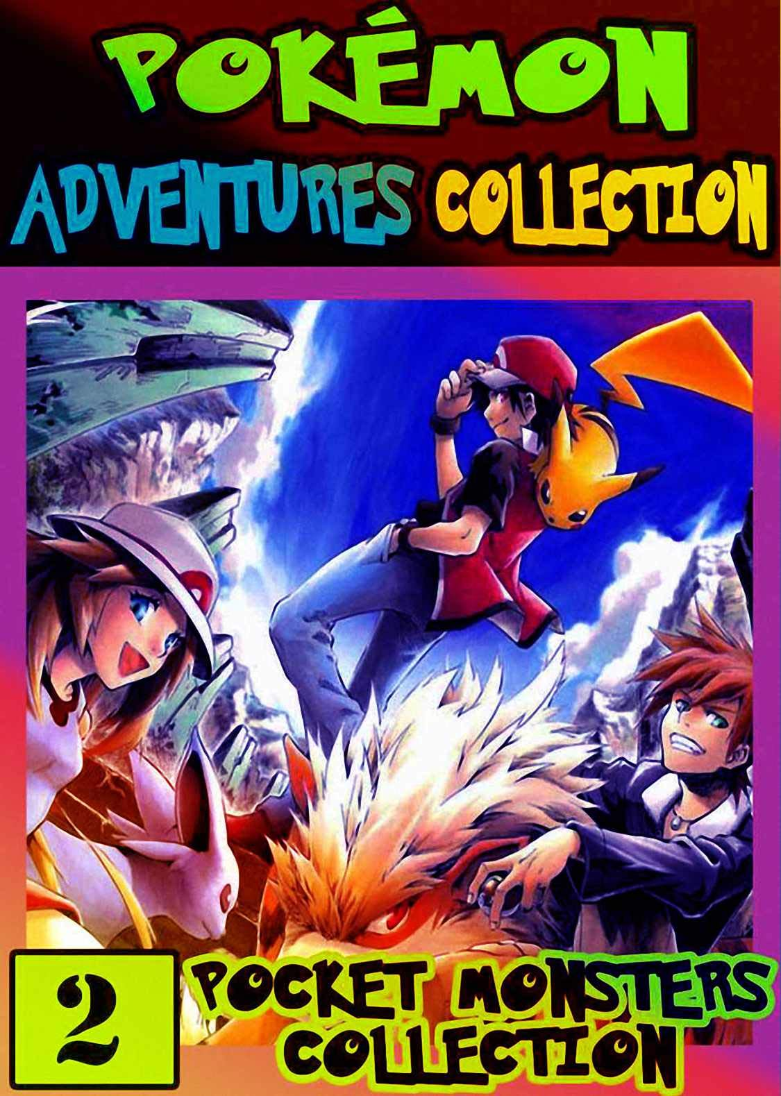 Monsters Collection: Collection Pack 2 - Graphic Novel For Children, Kids Pokemon Manga Pocket Monsters Adventures