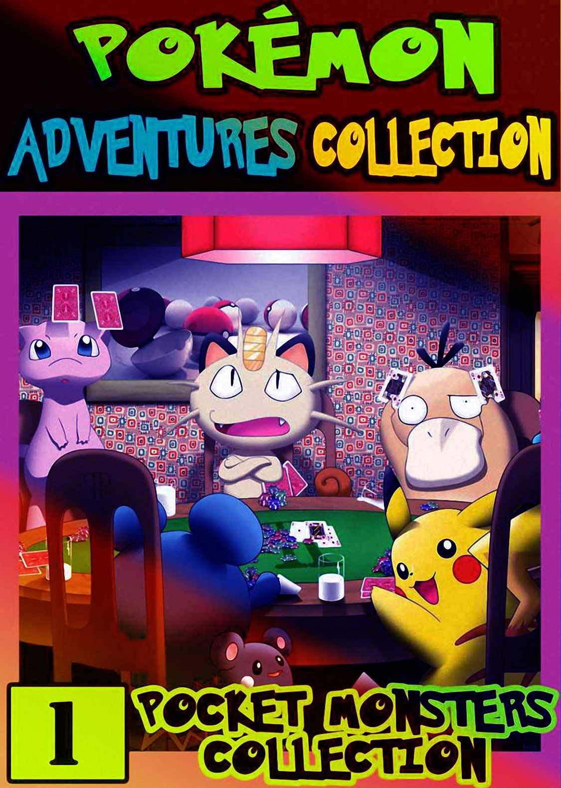 Monsters Collection: Collection Pack 1 - Graphic Novel For Children, Kids Pokemon Manga Pocket Monsters Adventures
