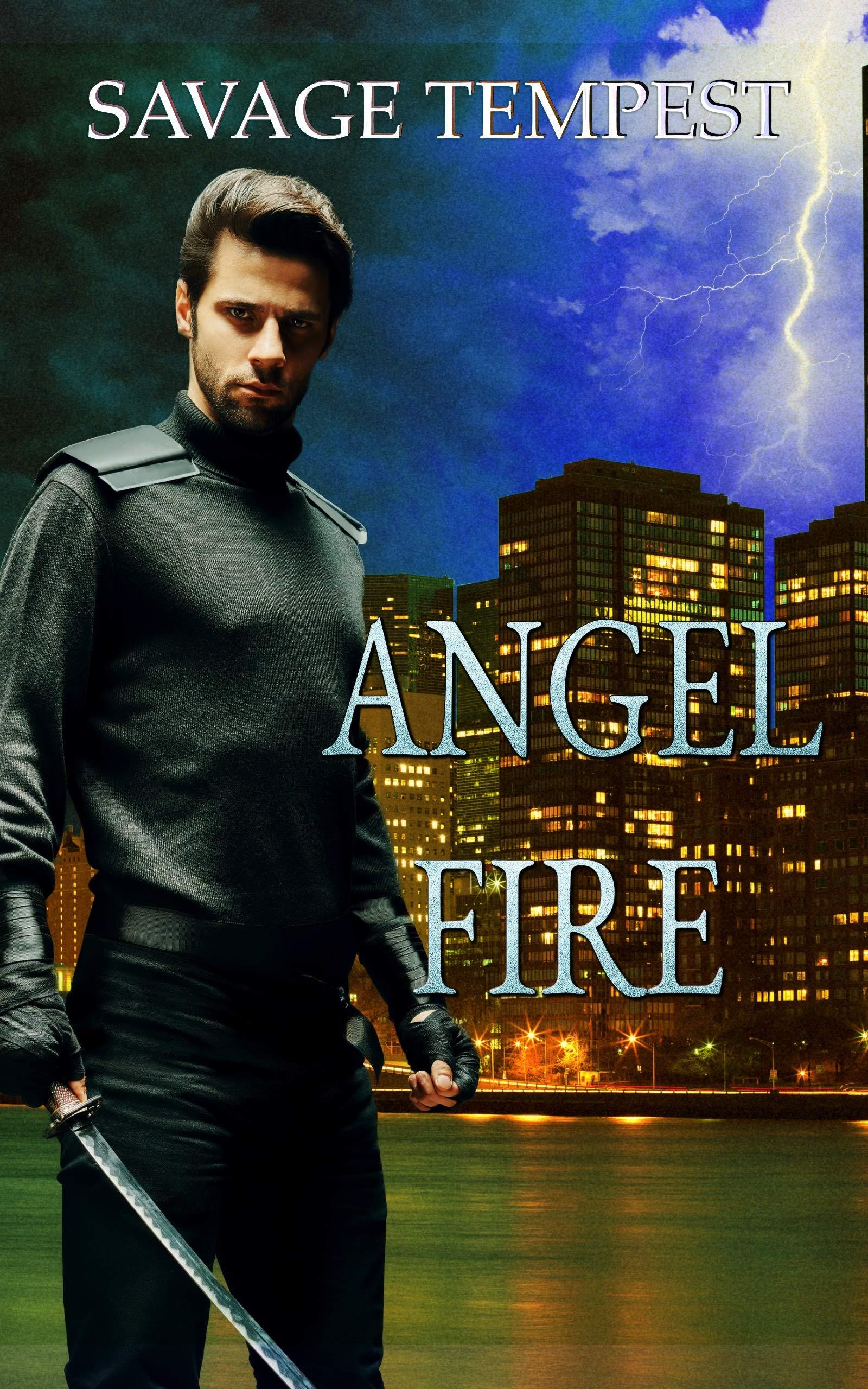 Angel Fire: An Urban Fantasy Comedy (Death & Sunscreen Book 2)