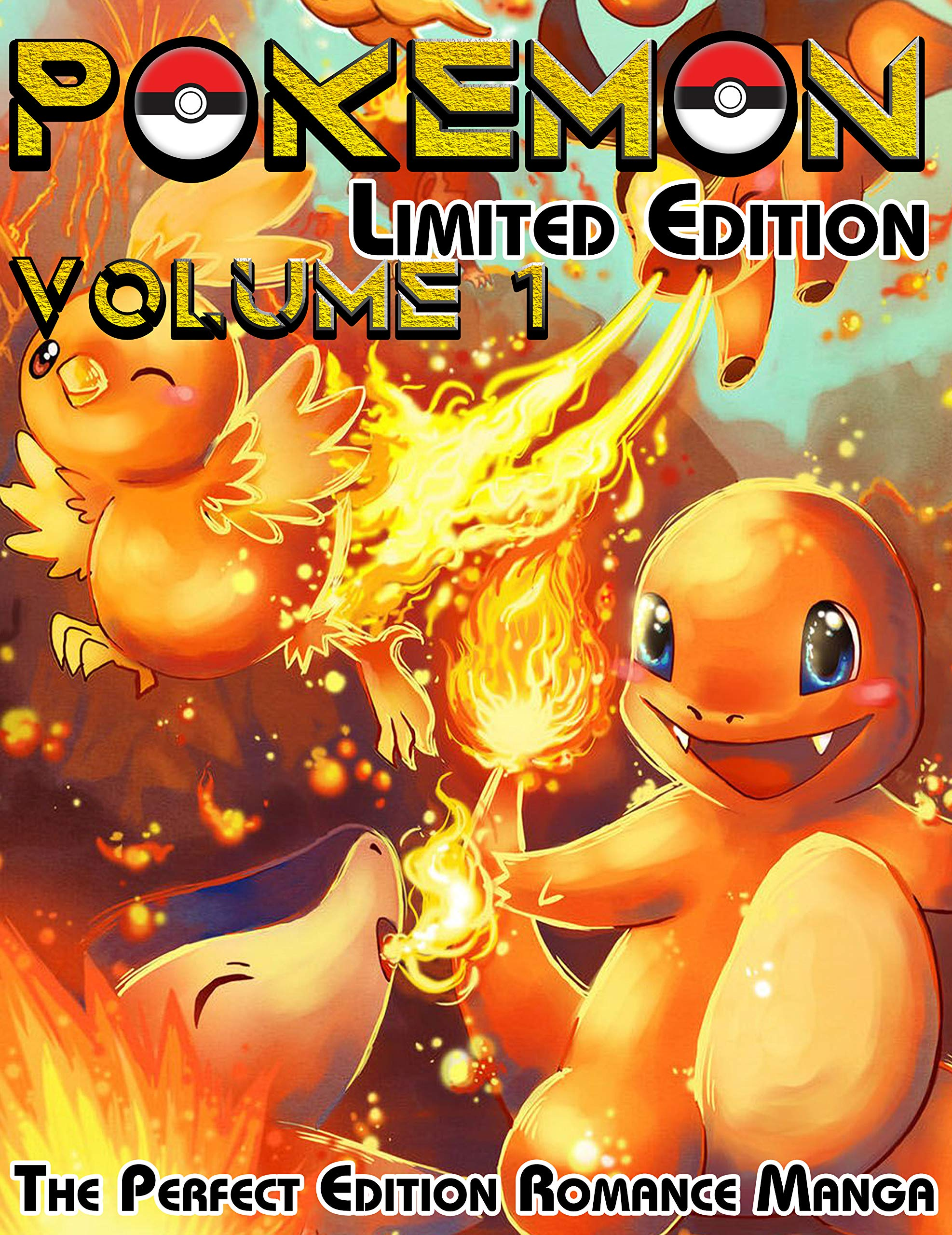 The Perfect Edition Romance Manga Pokemon Limited Edition: Complete Series Pokemon Volume 1