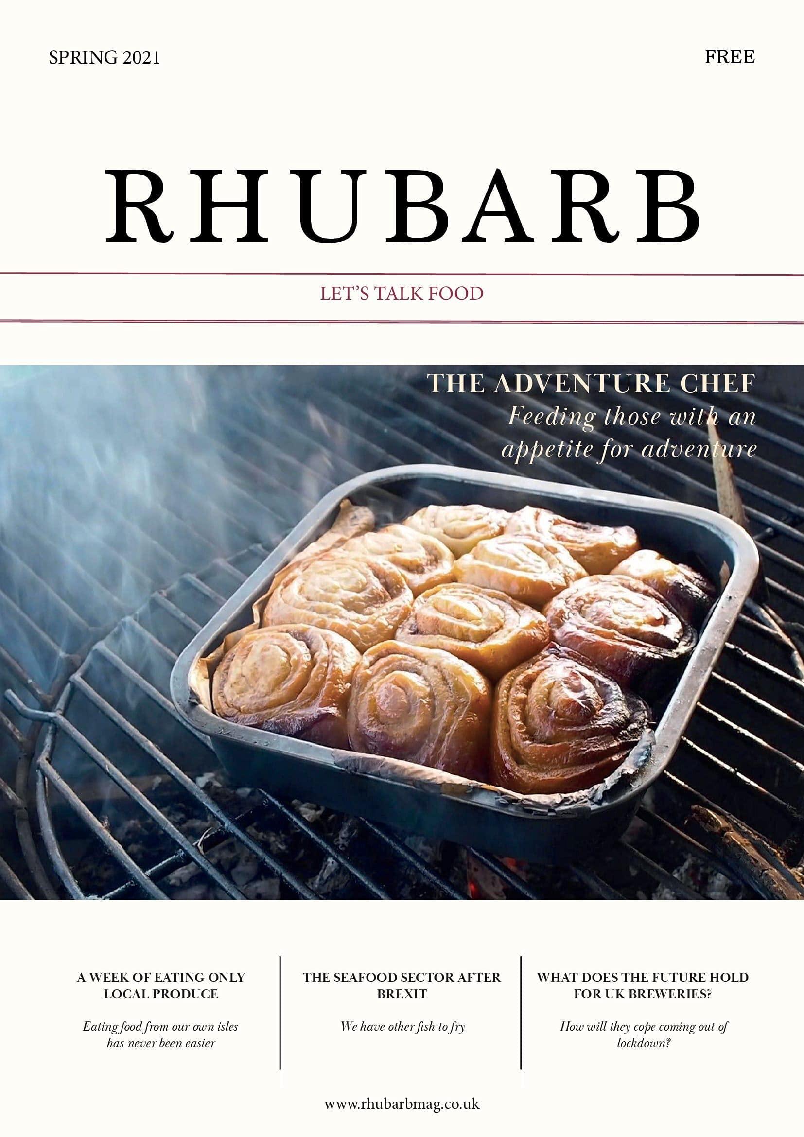 RHUBARB: Let's Talk Food