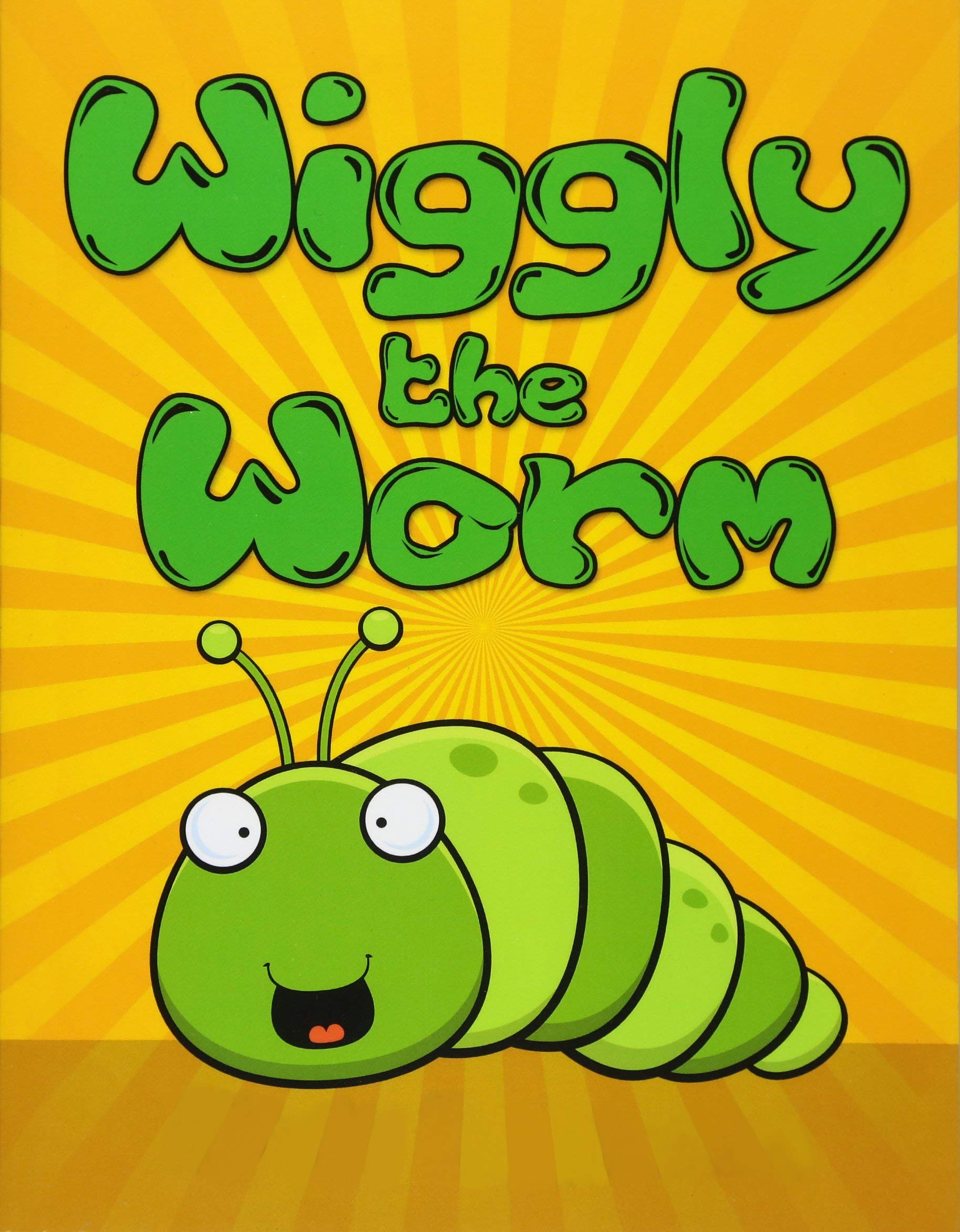 Wiggly the Worm: Fun Short Bedtime Stories for Kids Ages 3-10 (Early Bird Reader Book)