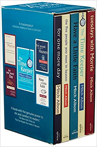 Mitch Albom Box Set: The Five People You Meet in Heaven / Tuesdays with Morrie / Have a Little Faith / For One More Day / The Time Keeper