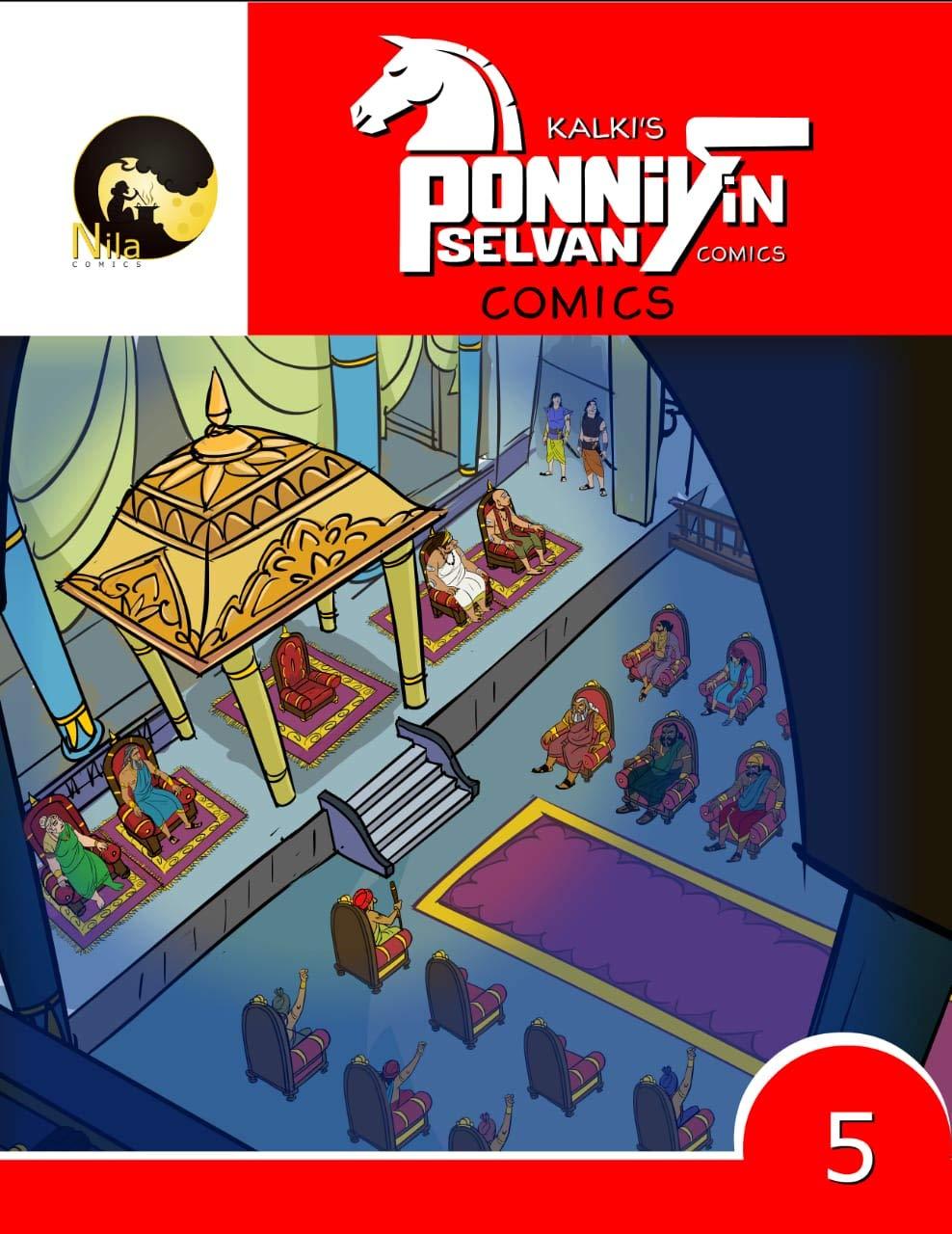 Kalki's Ponniyin Selvan Comics - Volume 5