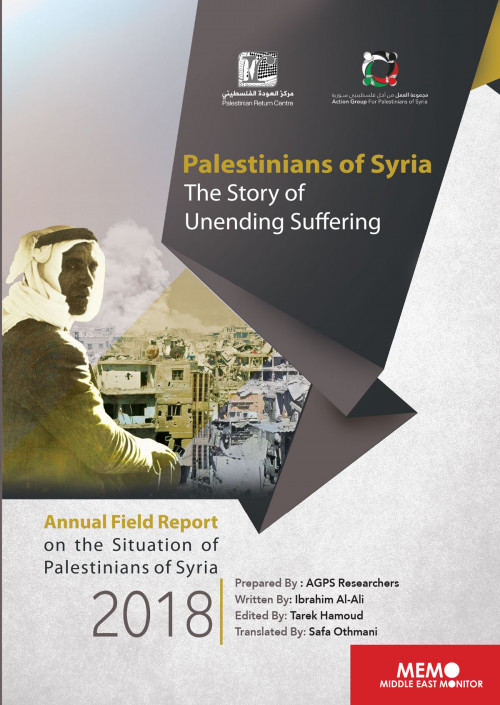 Palestinians of Syria: The Story of Unending Suffering