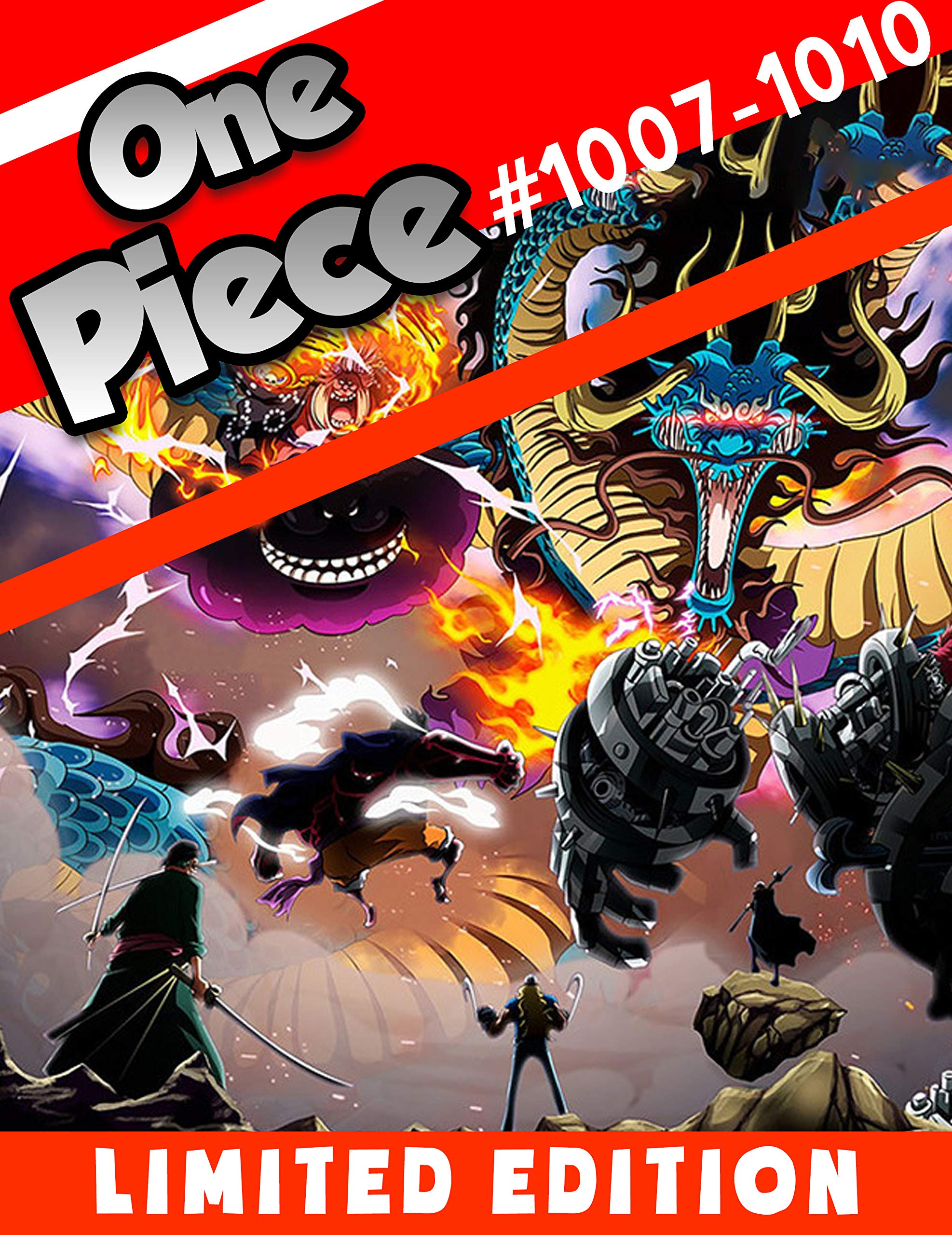 Fantasy Manga One Piece New Chapter: Chapter 1007-1010 Limited Edition