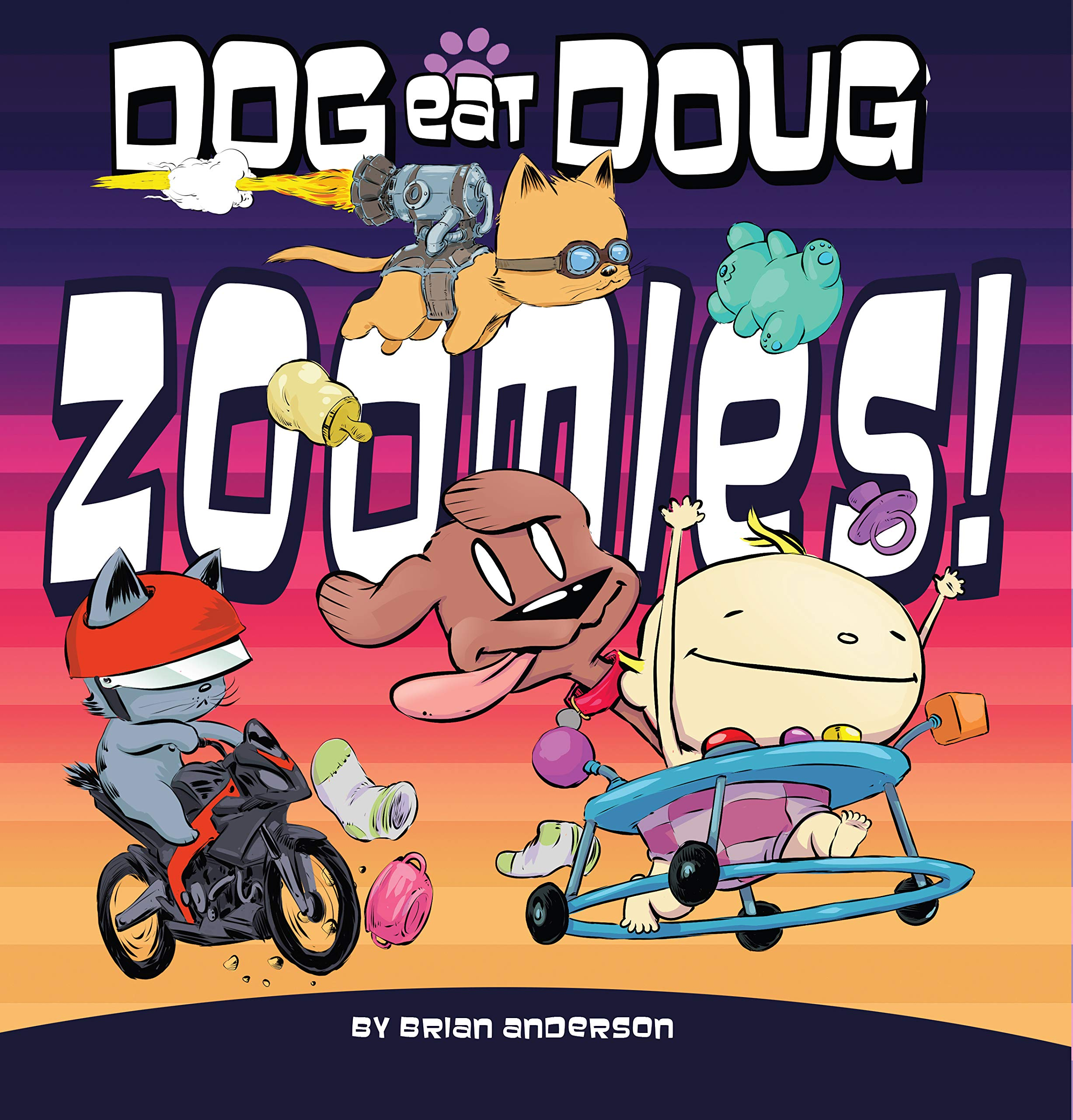 Dog eat Doug Graphic Novel: Zoomies!