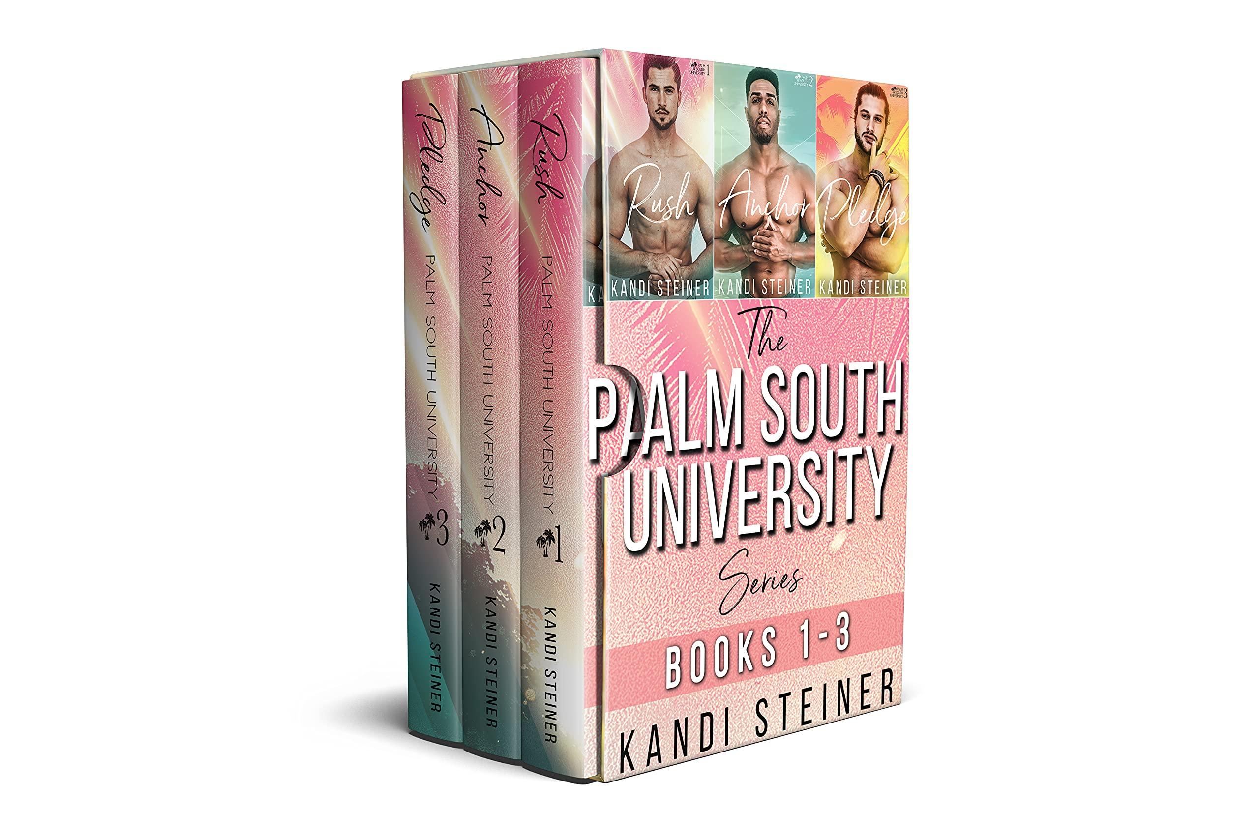 The Palm South University Series Box Set: Books 1-3: Rush, Anchor, and Pledge