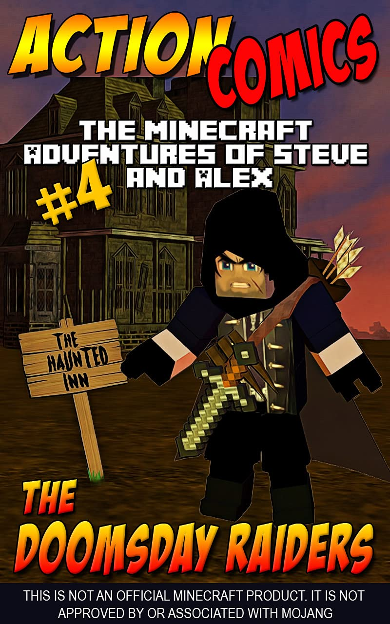 Action Comics: The Minecraft Adventures of Steve and Alex: The Doomsday Raiders – Part 4