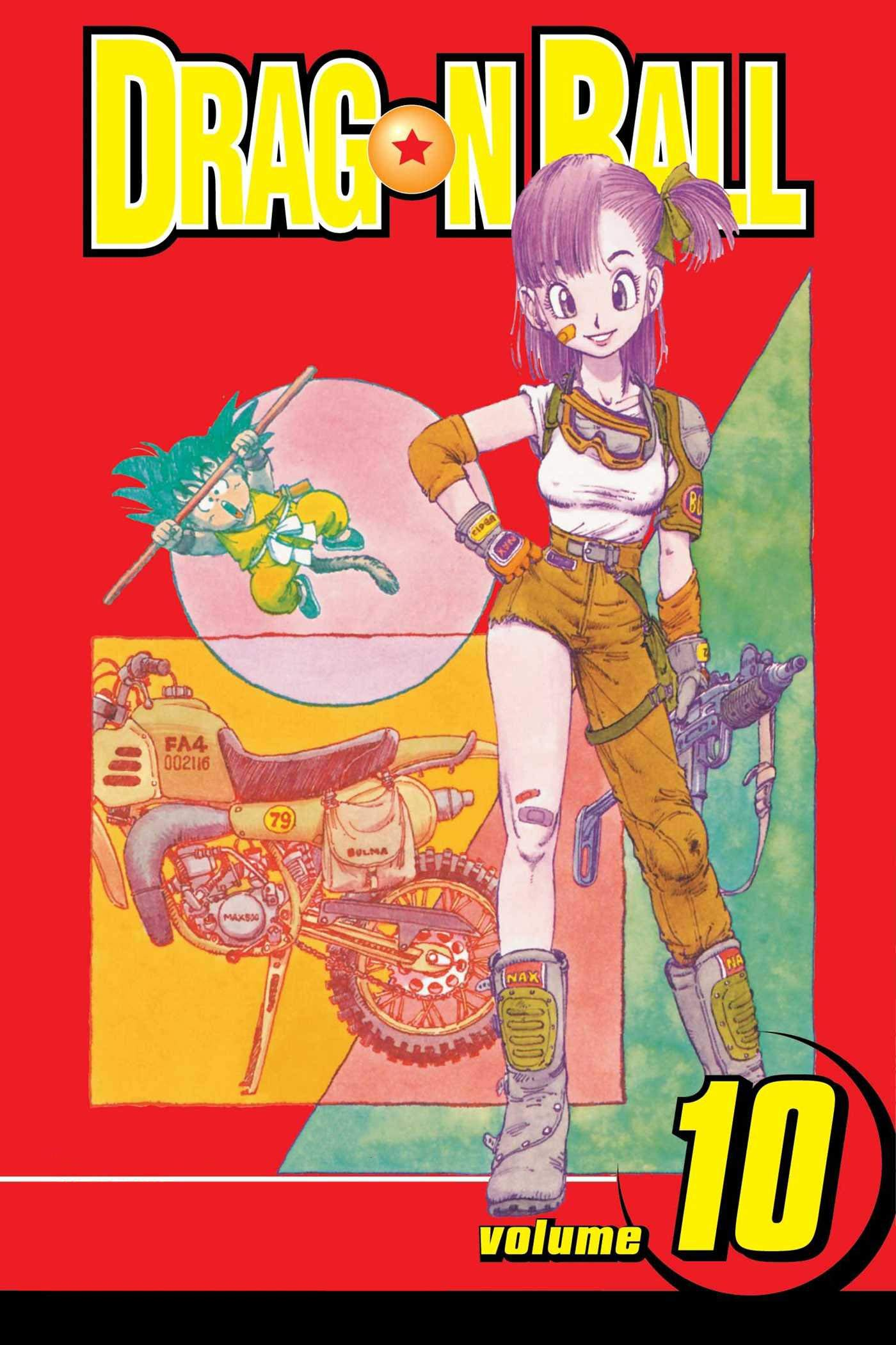 Dragon Ball: Manga volume 10