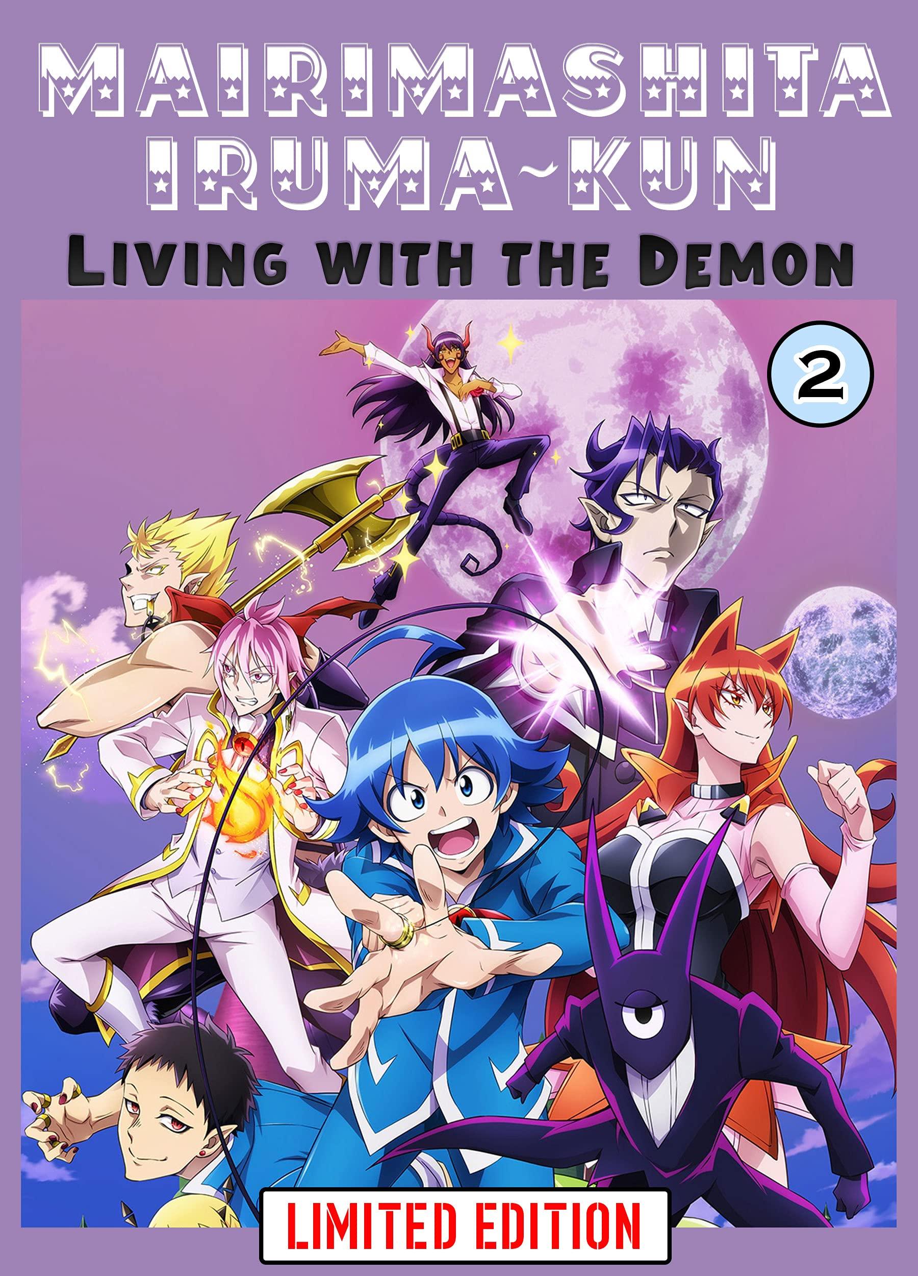 Living With The Demon: Book 2 New 2021 Adventure fantasy manga Comic For Children Great Mairimashita! Iruma-kun