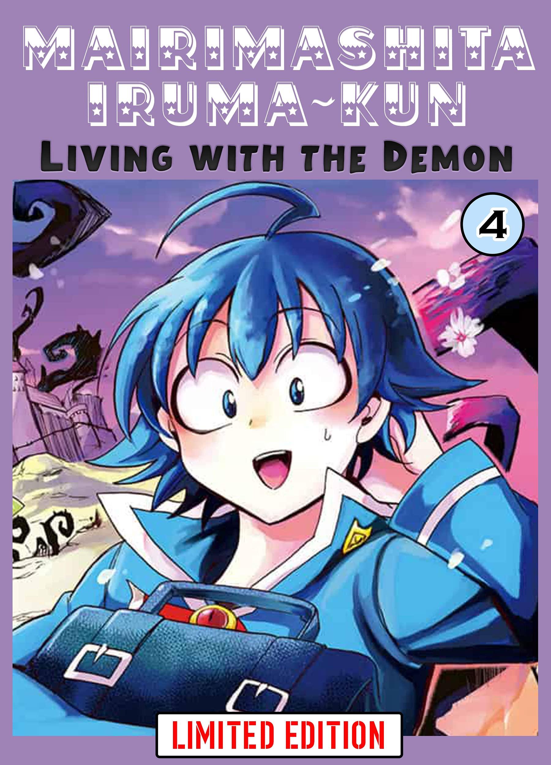Living With The Demon: Book 4 New 2021 Adventure fantasy manga Comic For Children Great Mairimashita! Iruma-kun
