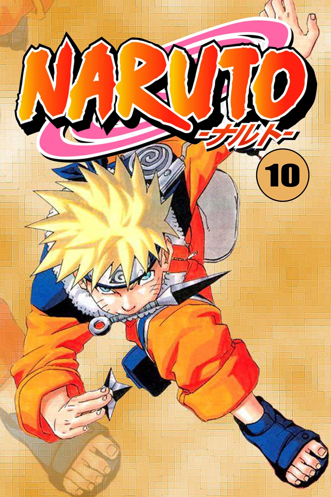 Best Ninja Manga: Naruto Uzumaki Volume 10
