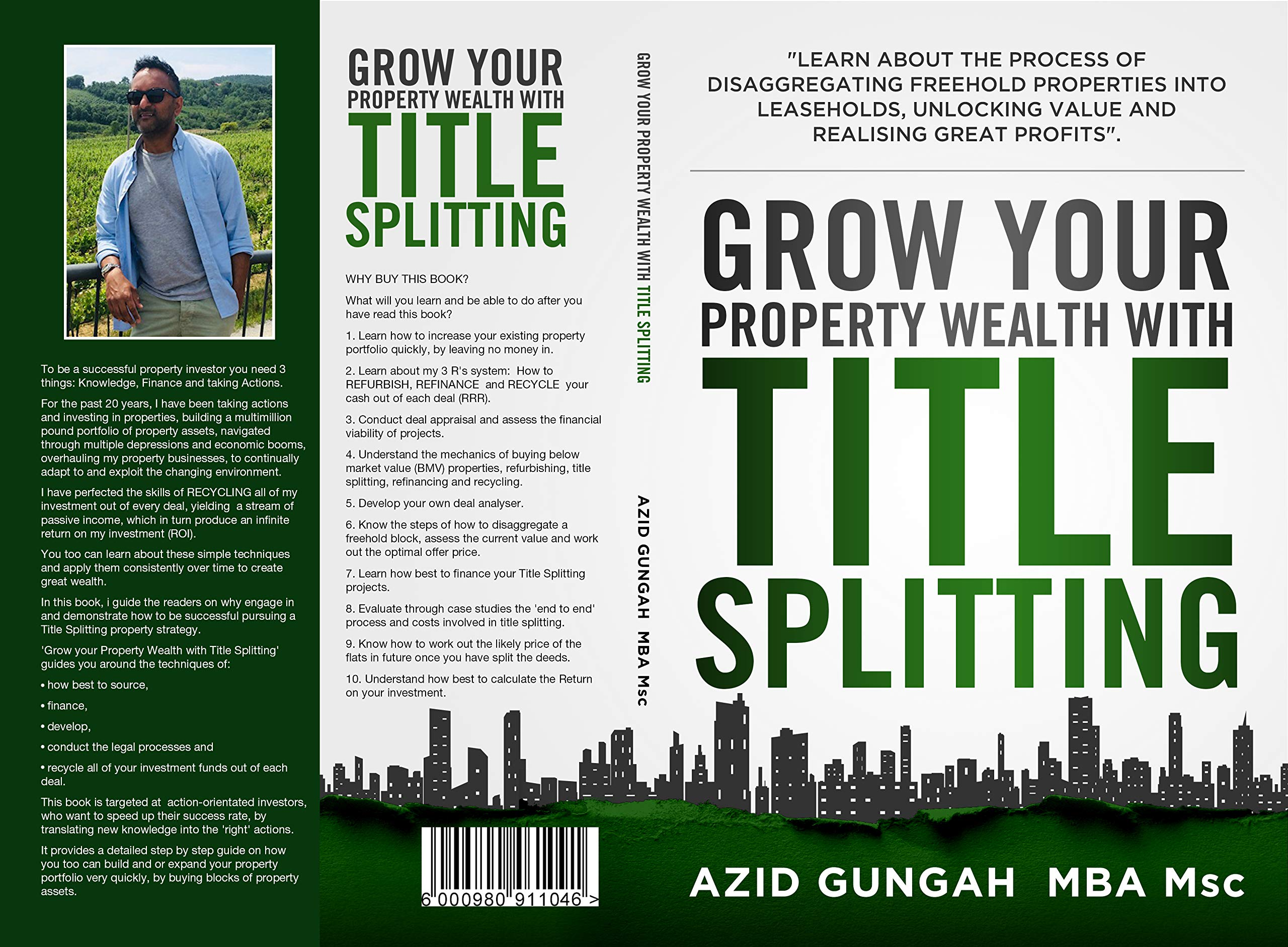 Property Investing: Grow your Property Wealth with Title Splitting: Learn about the process of disaggregating freehold properties into leaseholds, unlocking value and profits.