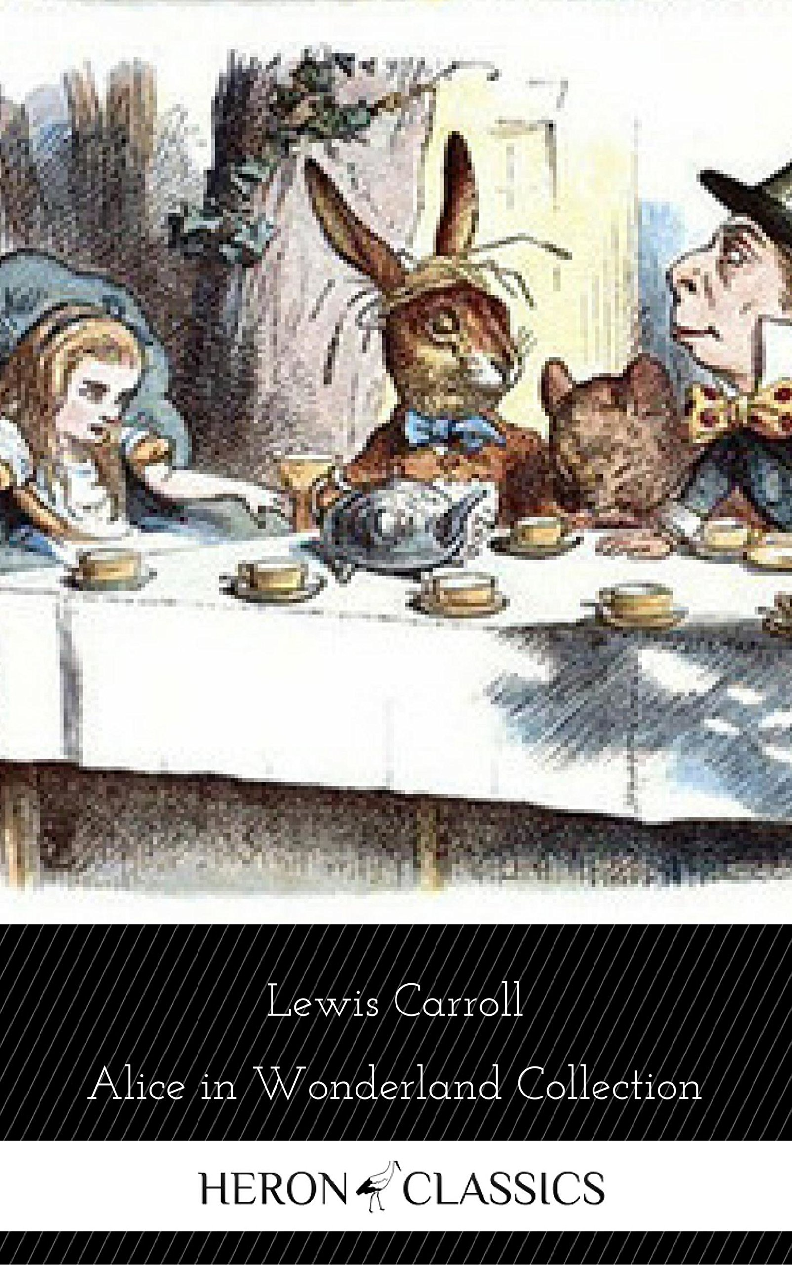 Alice in Wonderland Collection - All Four Books [Free Audiobooks Includes 'Alice's Adventures in Wonderland' 'Alice Through the Looking Glass'+ 2 more sequels]
