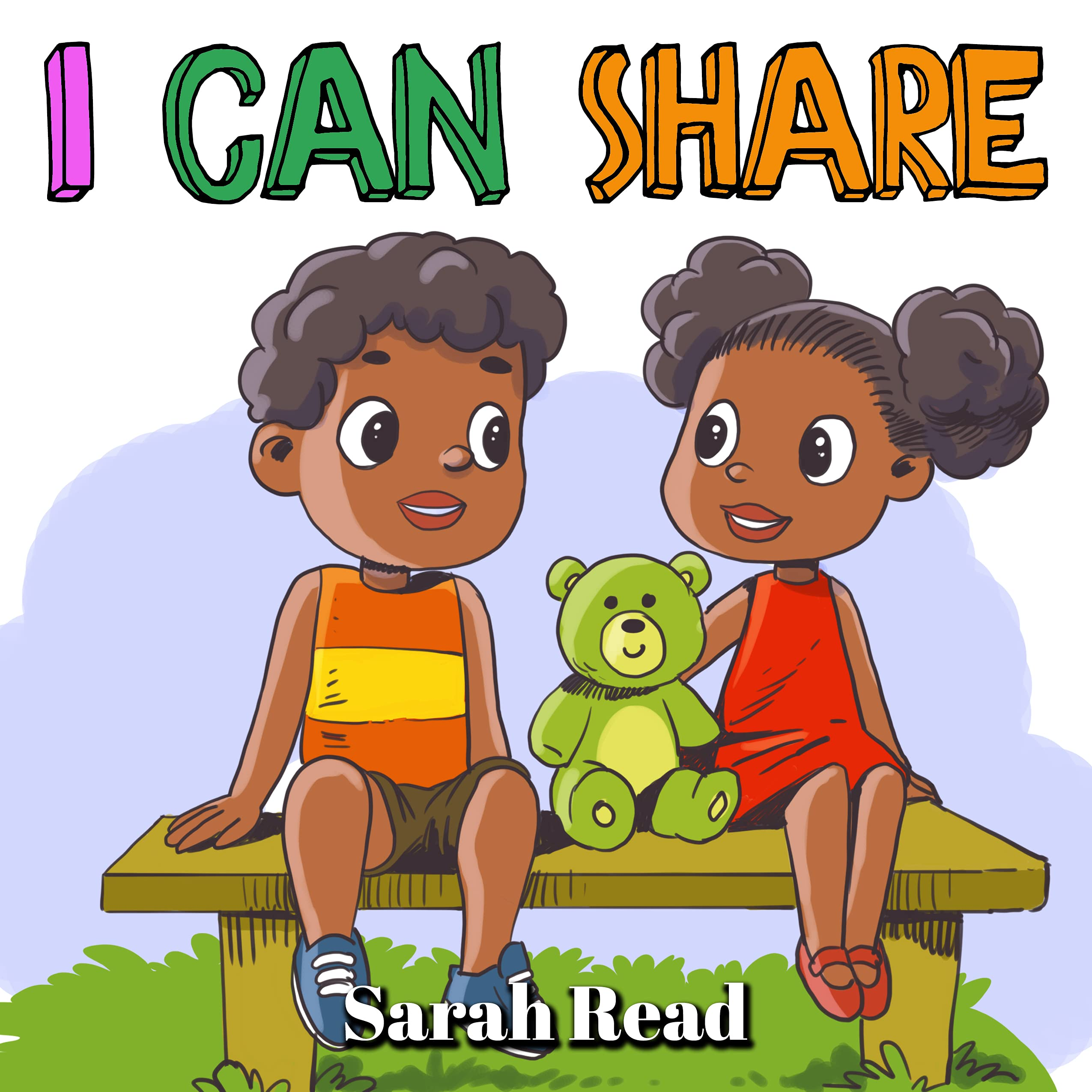I Can Share: Children's Books about Sharing, Emotions & Feelings, Age 3 5, Preschool, Kindergarten