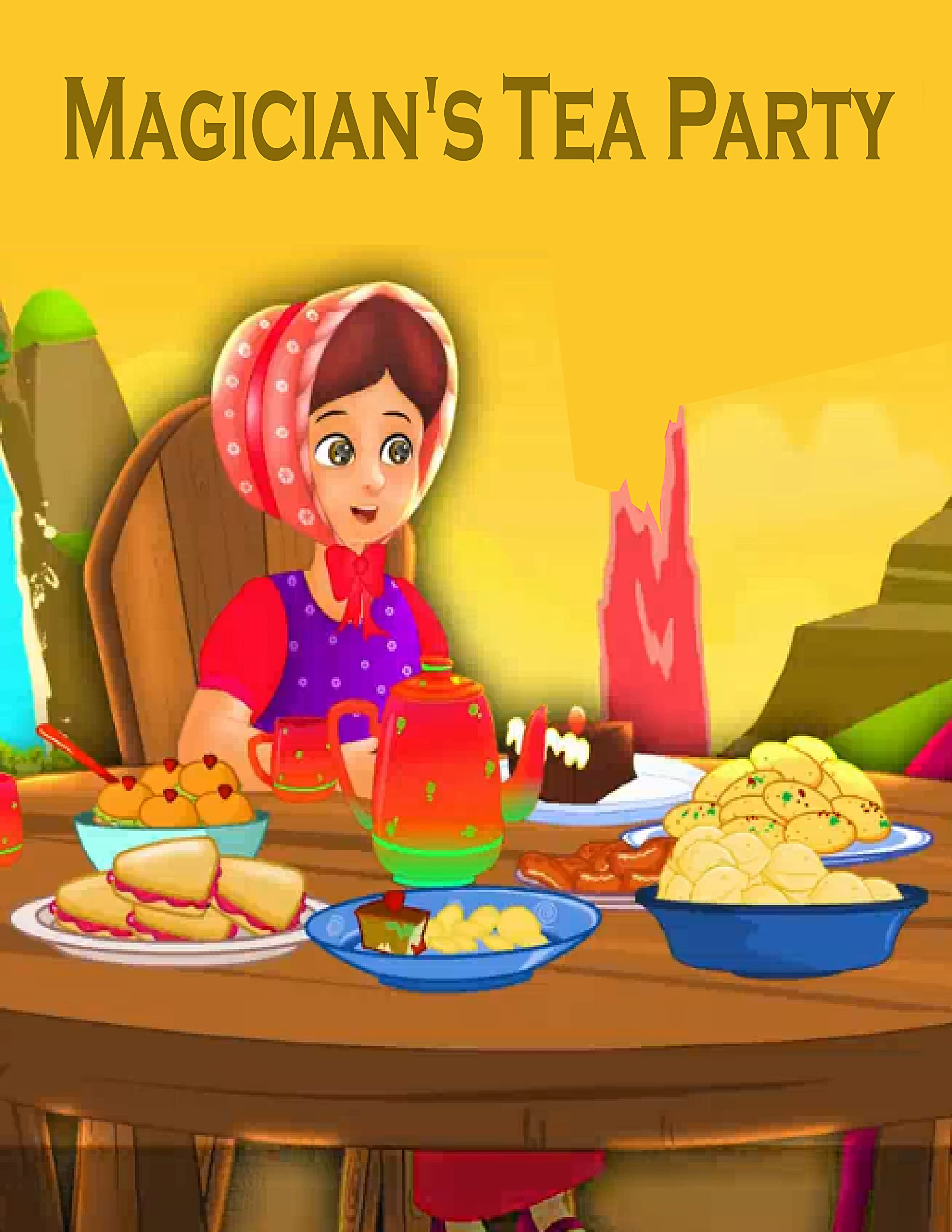 Story Of About The Magician's Tea Party: Bedtime Stories For Kids | Classic Stories For Kids In English | S304